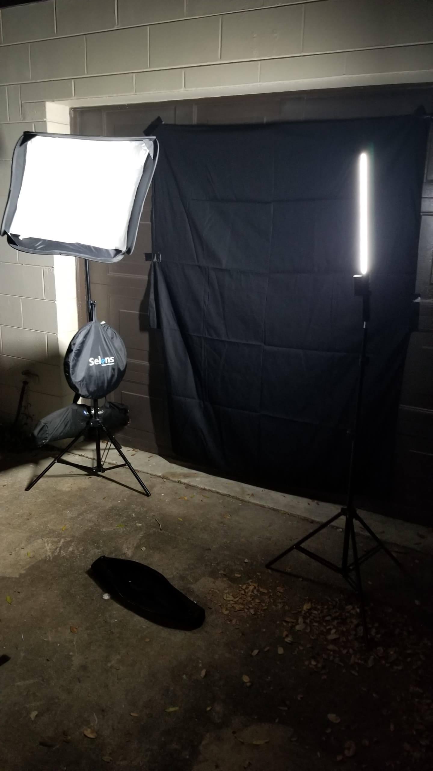set up anywhere photo shoot