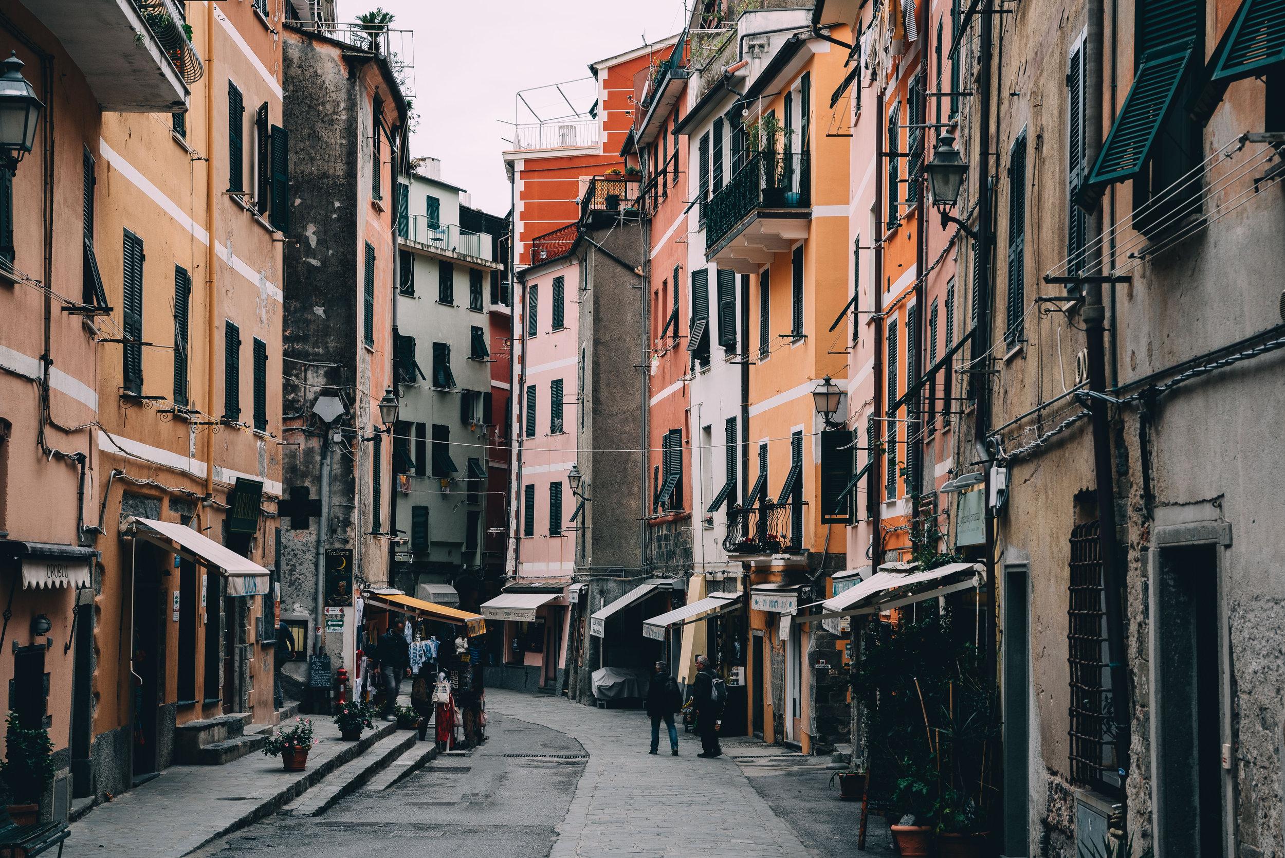 Vernazza Italy Main Street.jpg