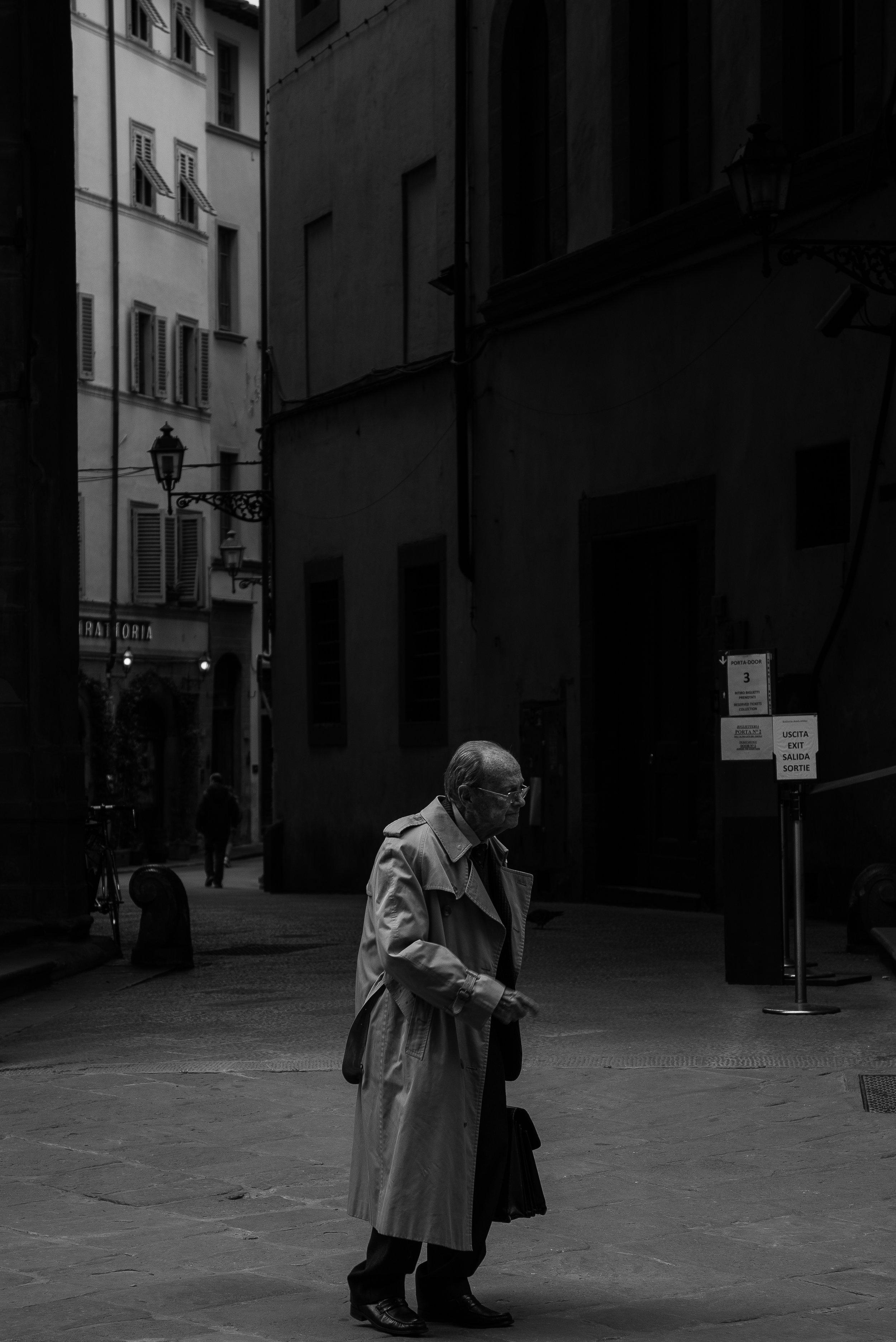 Florence Hailing a Cab.jpg