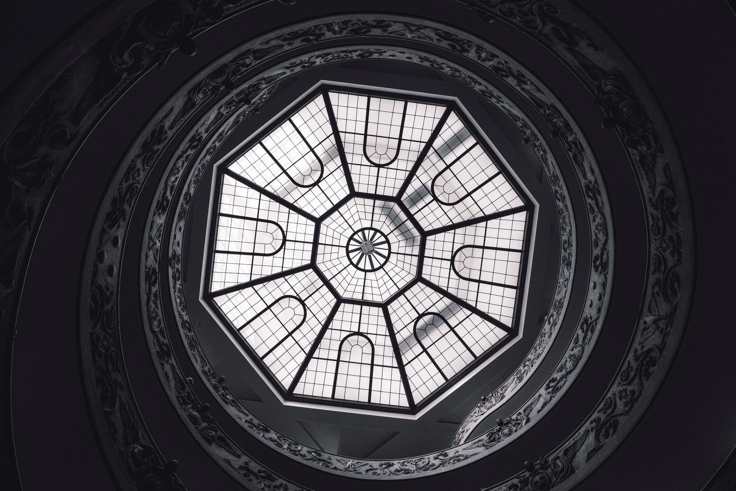 Vatican Staircase Looking Up.jpg