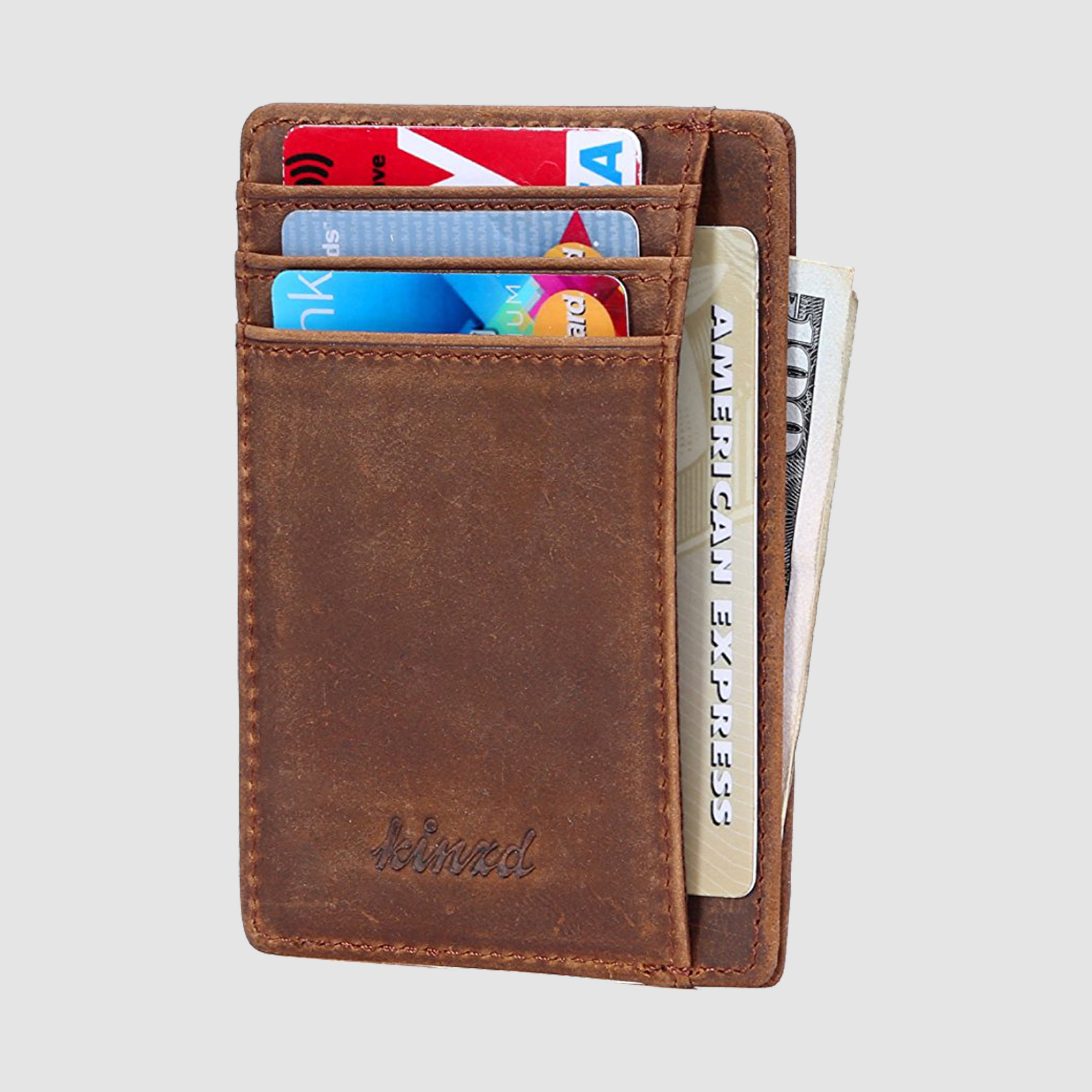Kinzd Slim Wallet, $10 Amazon