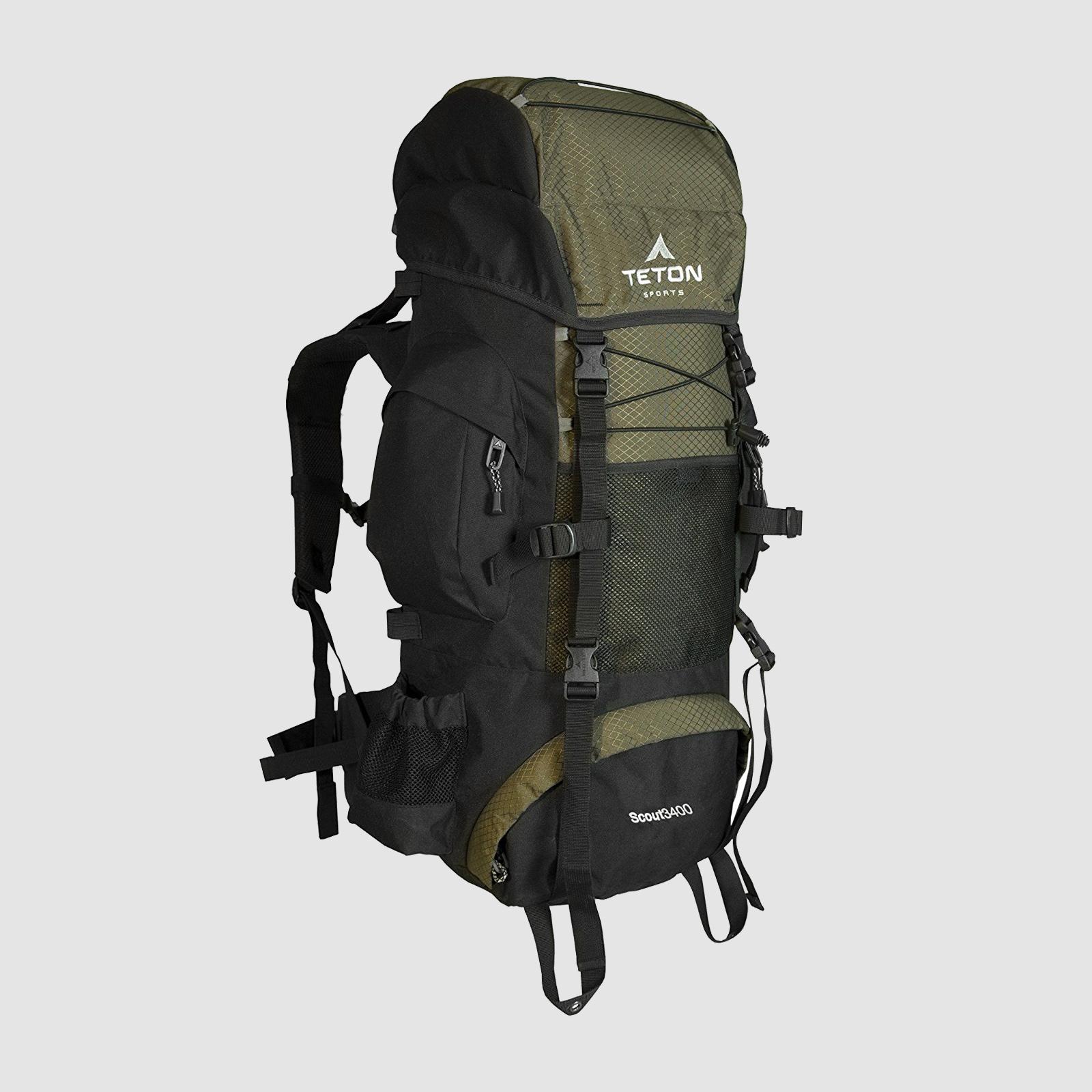 Teton Sports Scout 3400 Internal Frame Backpack | $55-$60 | Amazon