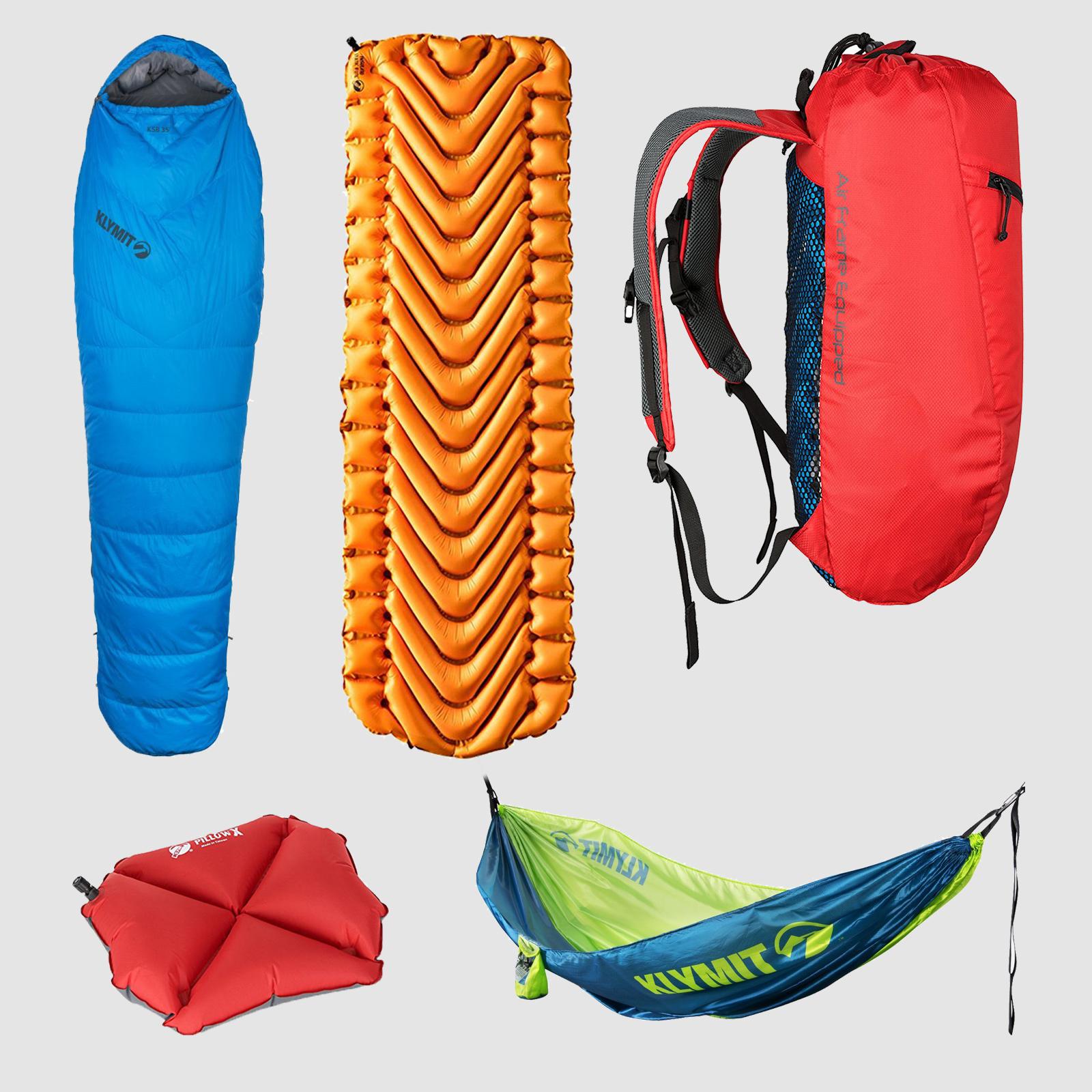 Klymit Camping Gear | $14-$300 | Amazon