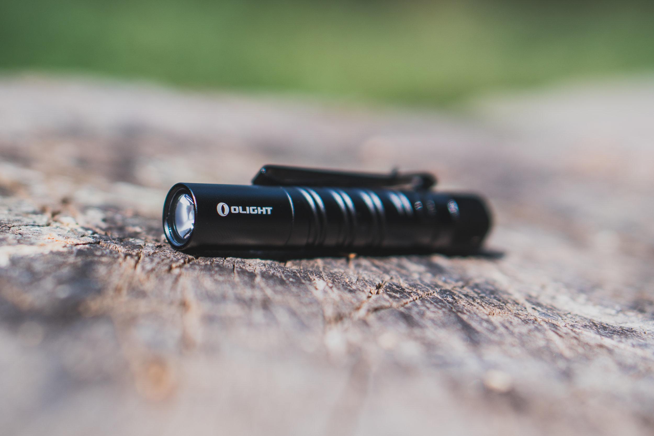 Olight I3T EOS Flashlight | $20
