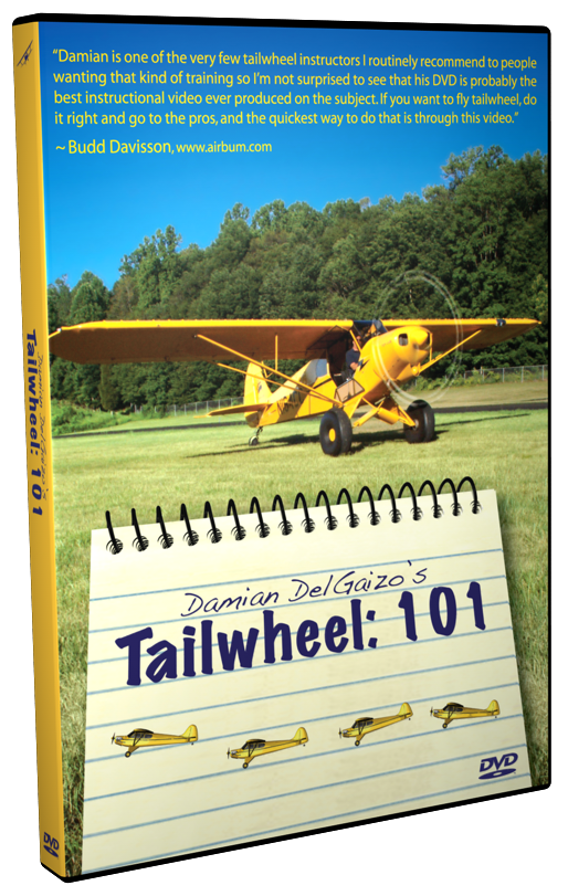 Tailwheel: 101 - Whether you want to fly upside down, low and slow or in the bush, the tailwheel endorsement is the place to start.  Join Damian DelGaizo as he guides his student, Jill through the entire transition to taildraggers.
