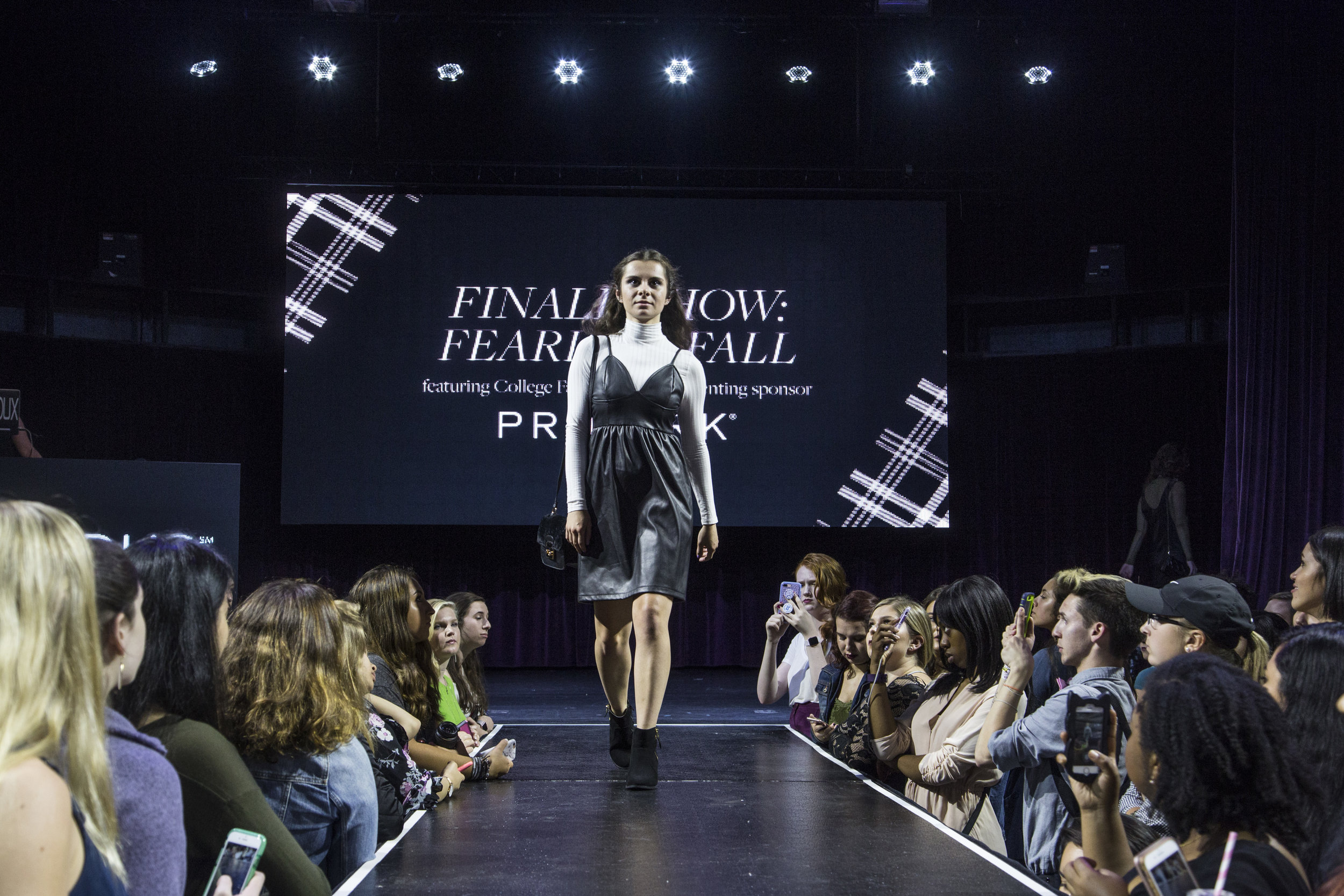 college fashion week 2017 runway animation