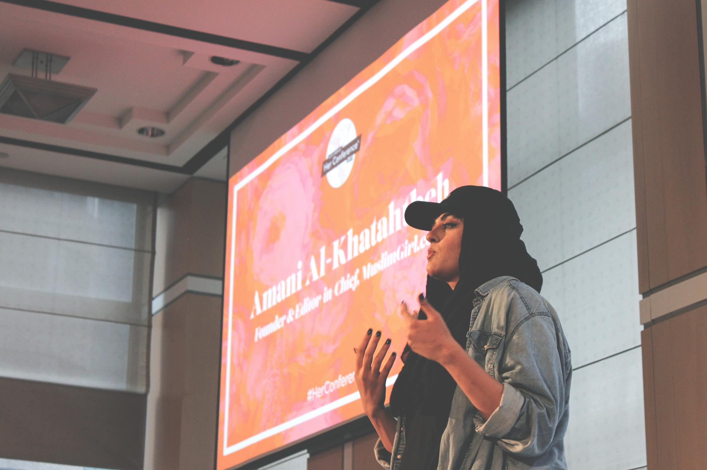 her conference 2017 speaker signage