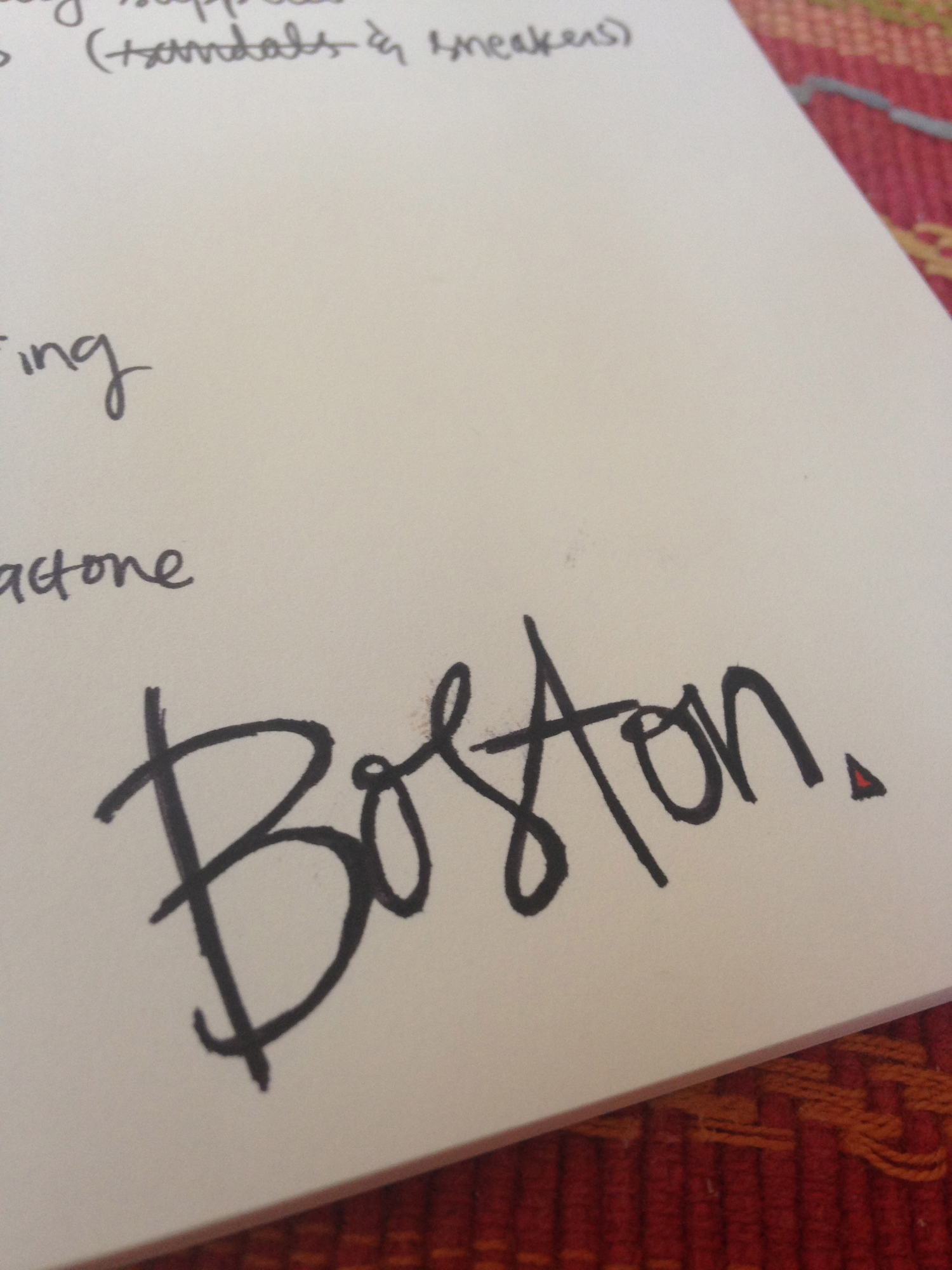 boston typography