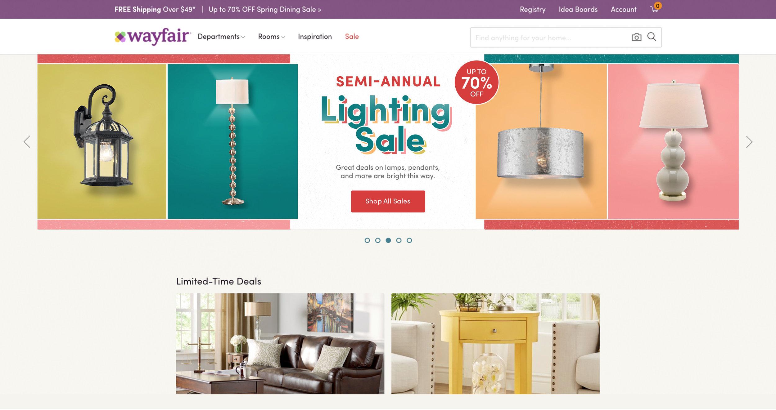 Semi-Annual Lighting Promotion