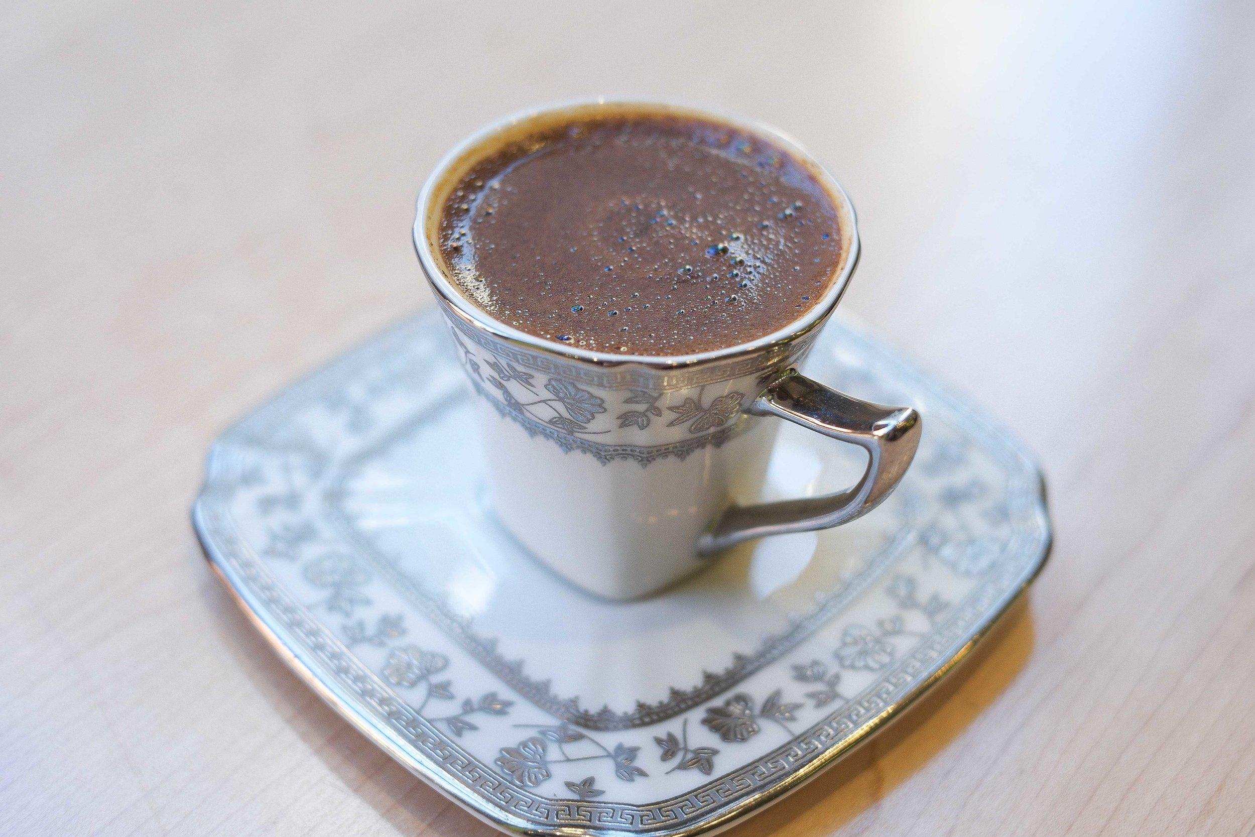 Turkish Coffee @ Café De Boston