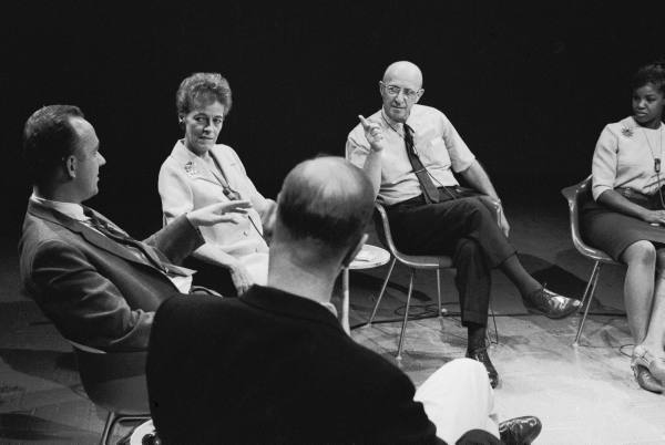 Carl Rogers in an Encounter Group