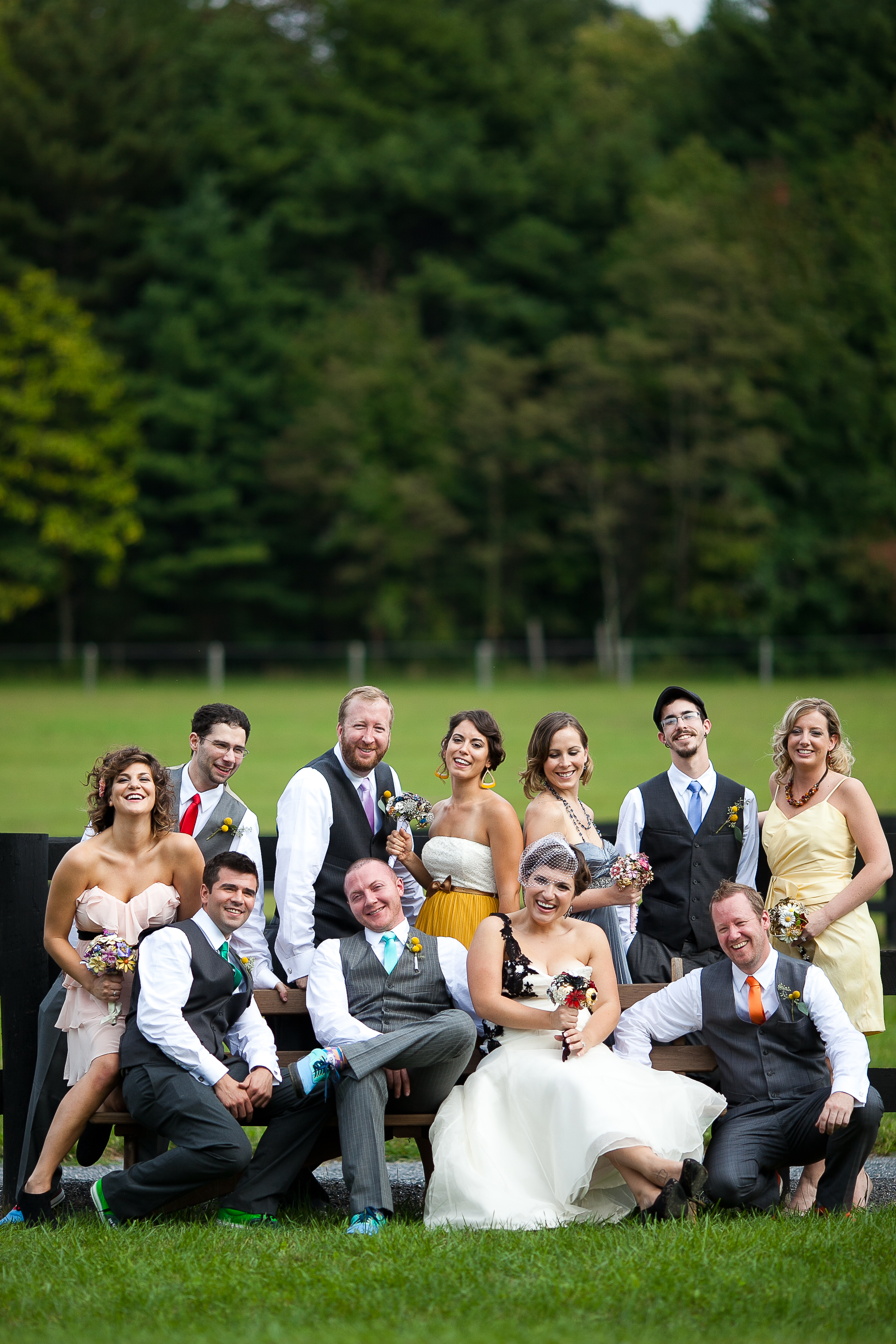 Best Thorpewood bridal party
