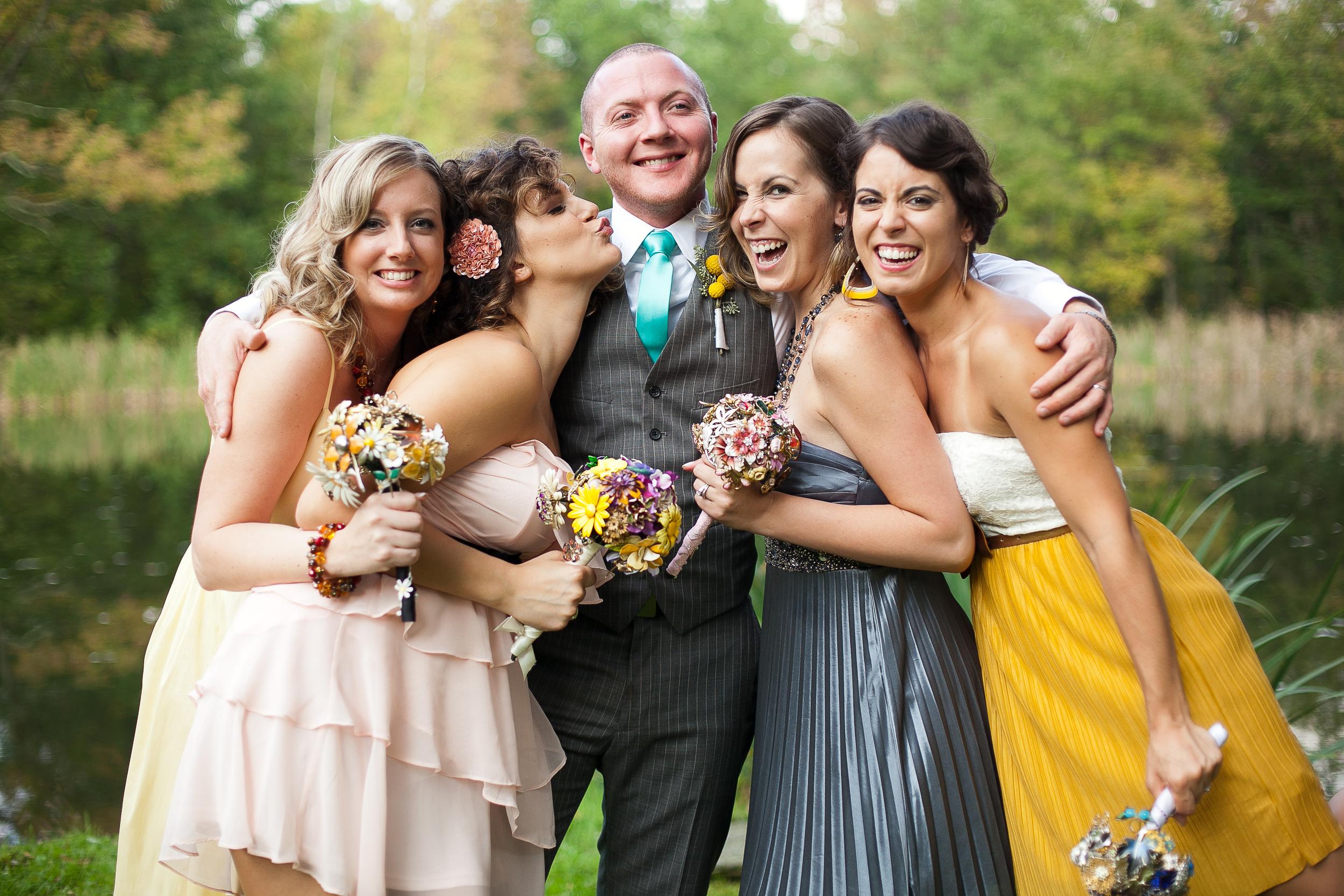 Thorpewood wedding bridal party