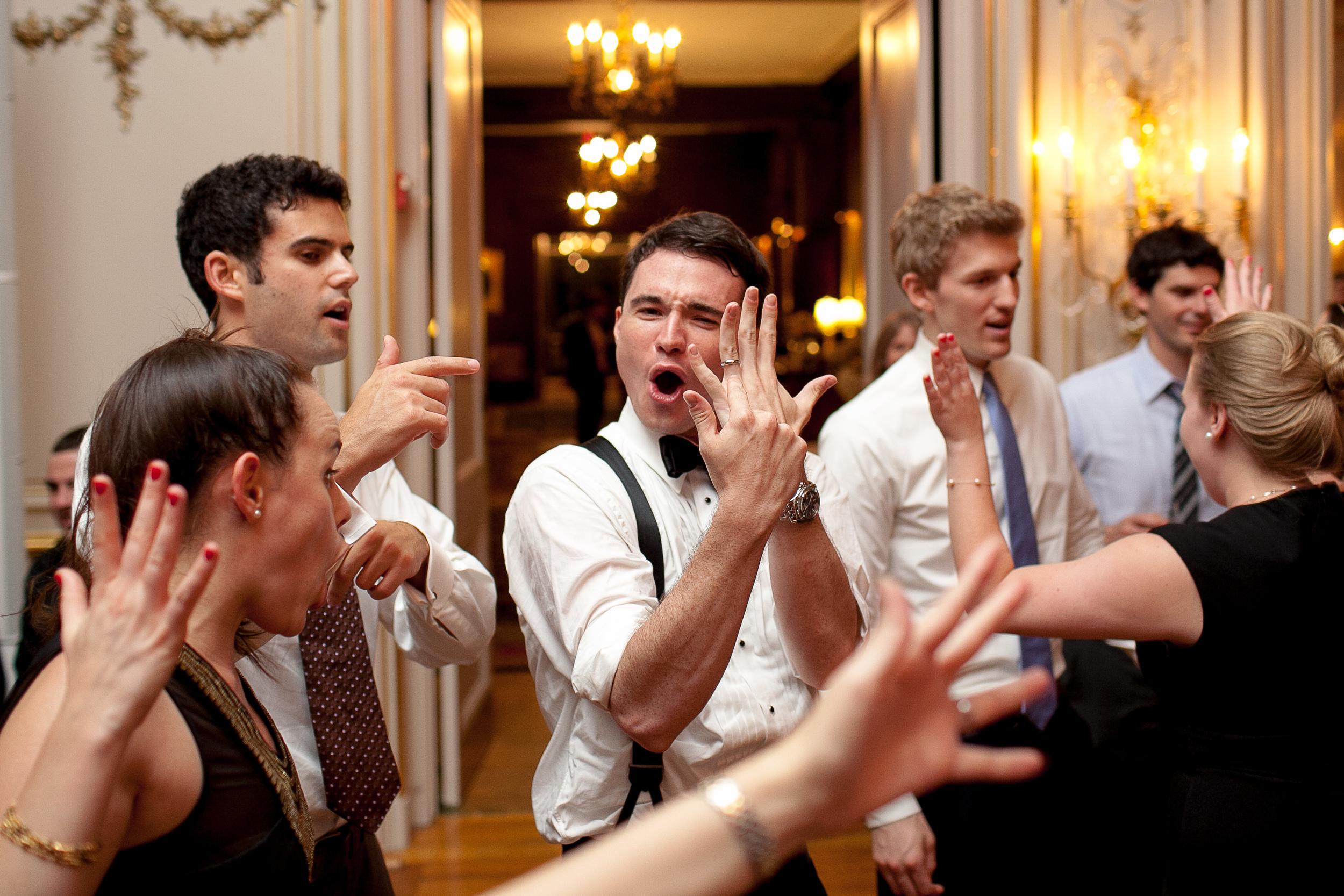 Comos club wedding