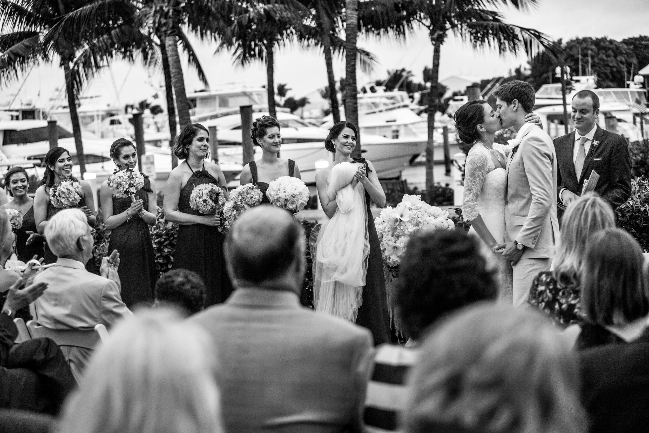 Ocean Reef Club ceremony