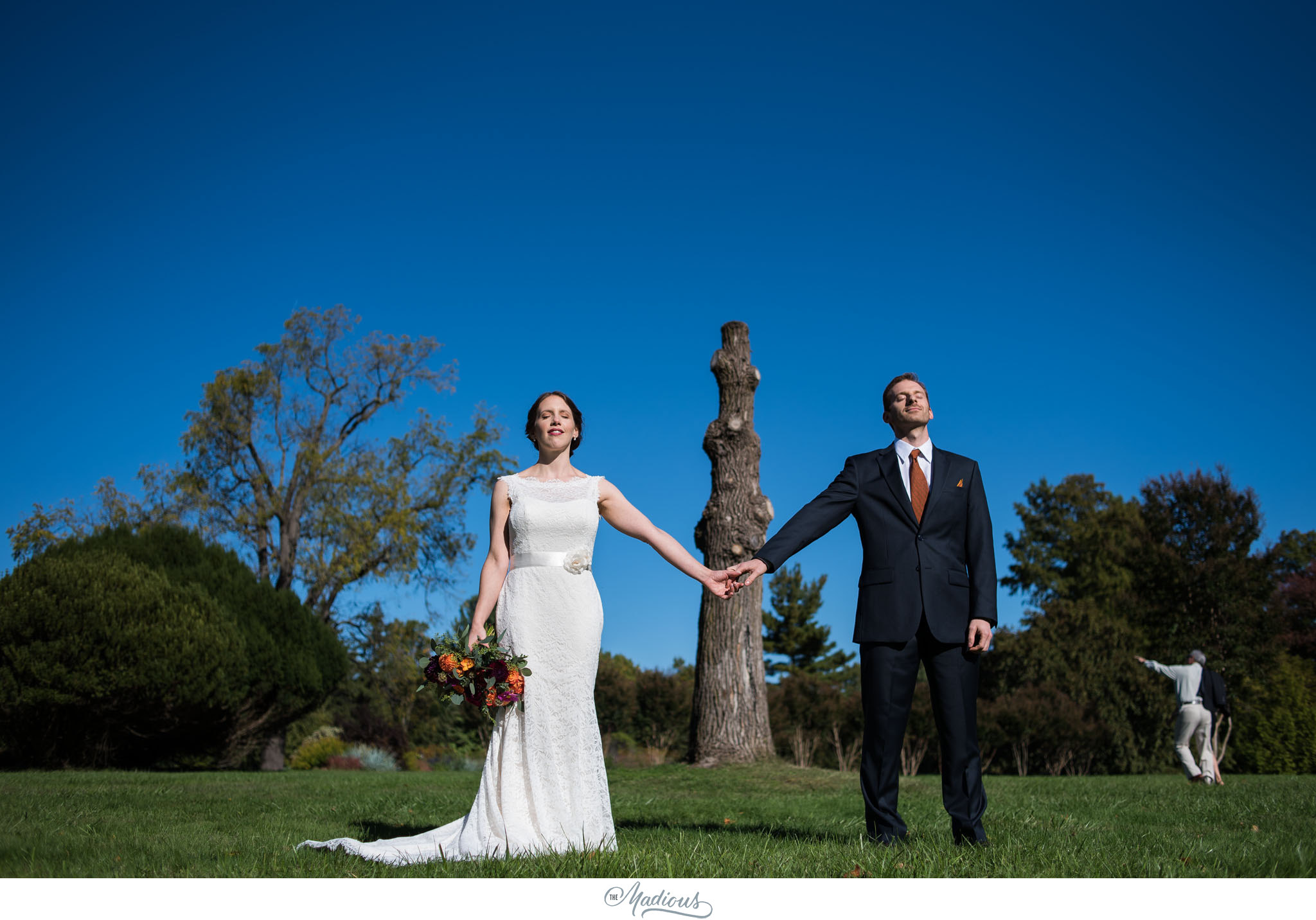 Cylburn Arboretum wedding photojournalism portraits