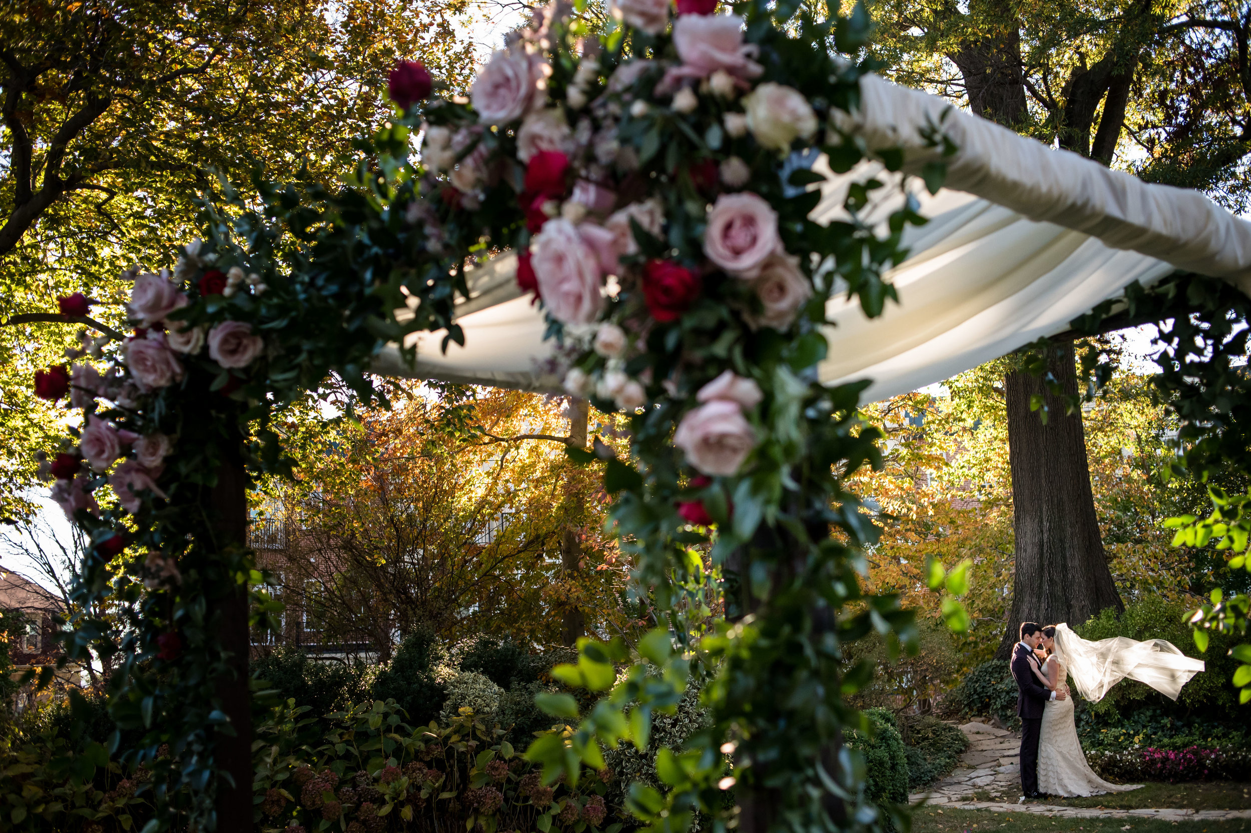 Claire + David | Meridian House