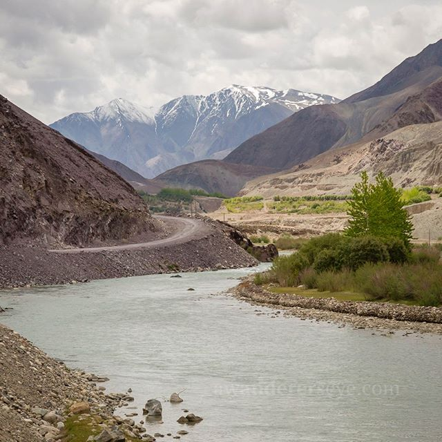 The road of the wanderer leads everywhere and nowhere. In this case the road is in Ladakh.