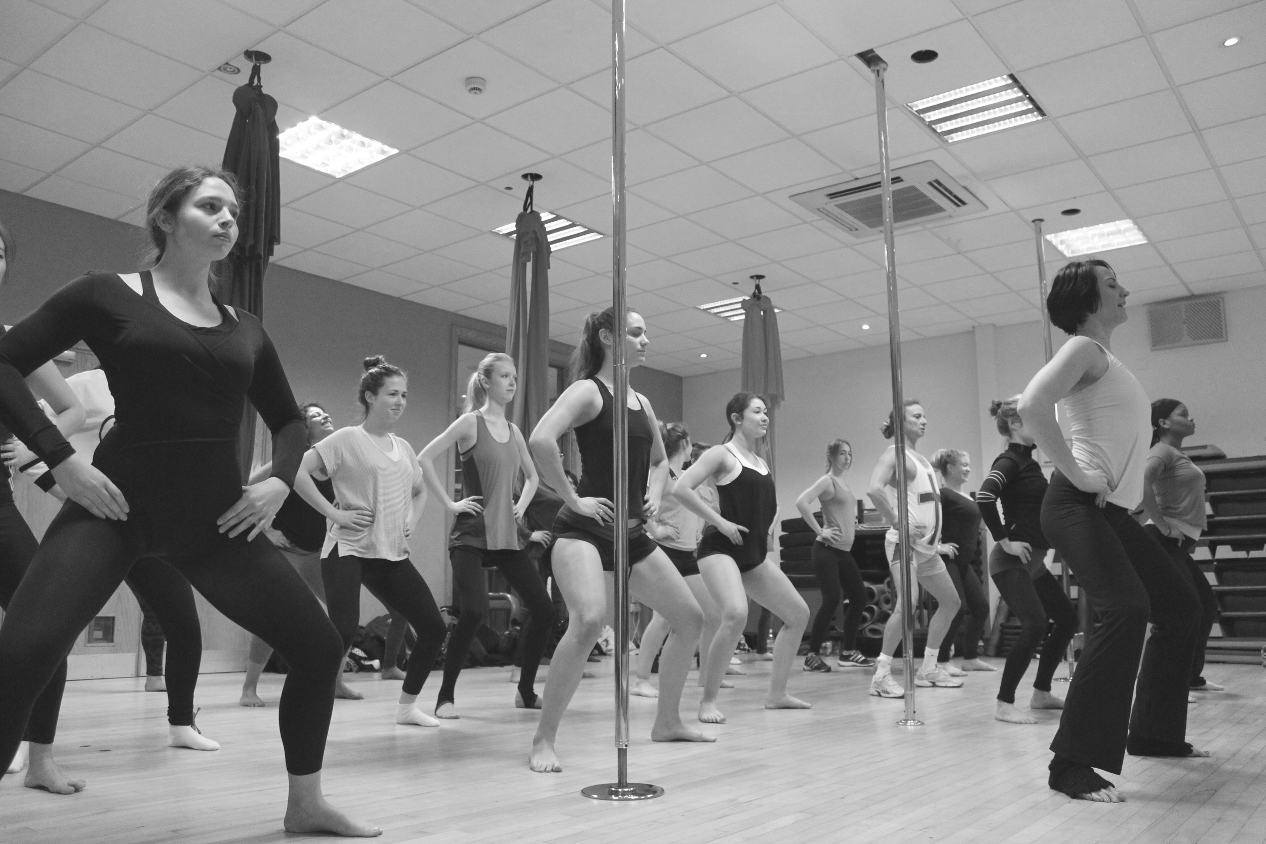 pole dance classes in south east london