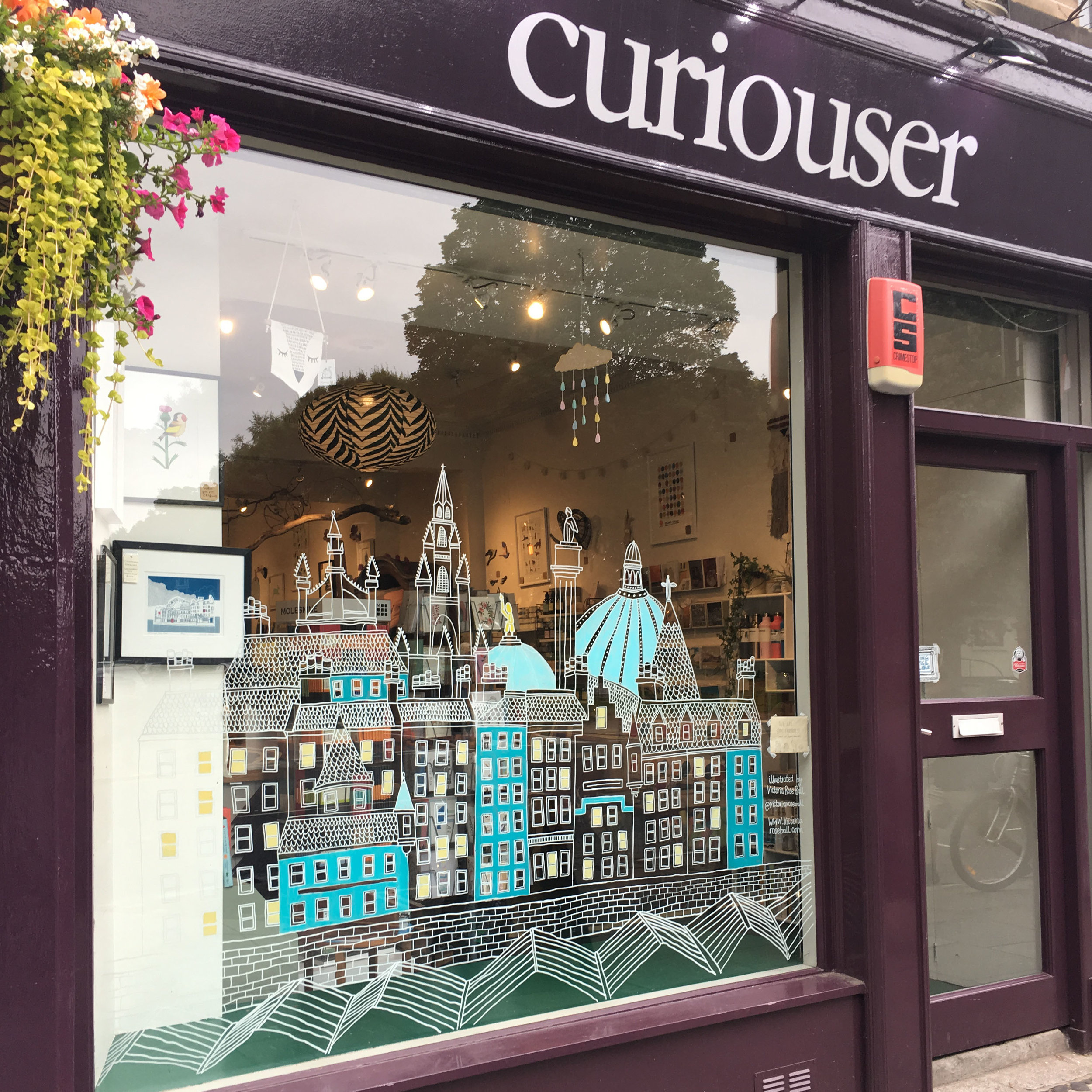 Curiouser & Curiouser, Bruntsfield Edinburgh. July 2017
