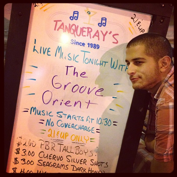 Catch us at our weekly residency in DT Orlando at Tanquerays every Tuesday!