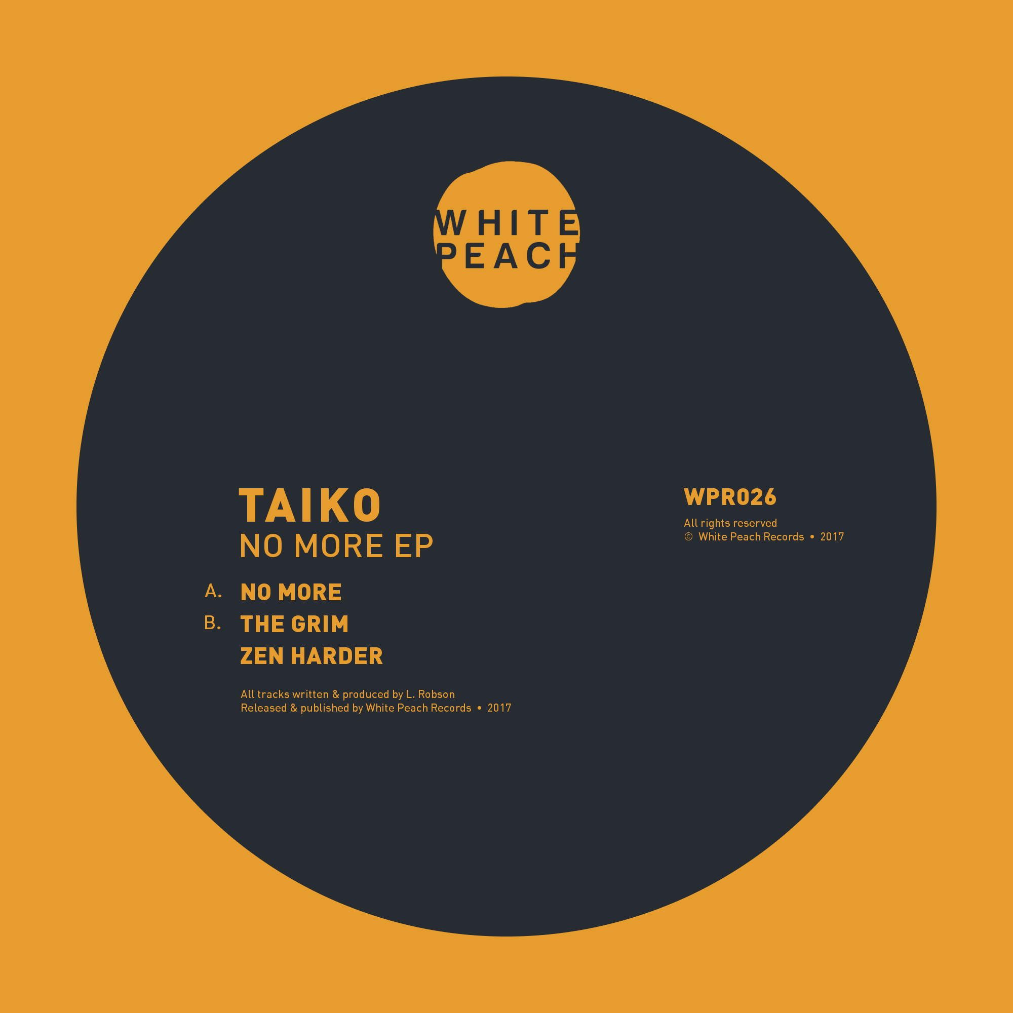 WPR026 (Taiko - No More EP, digital artwork).png
