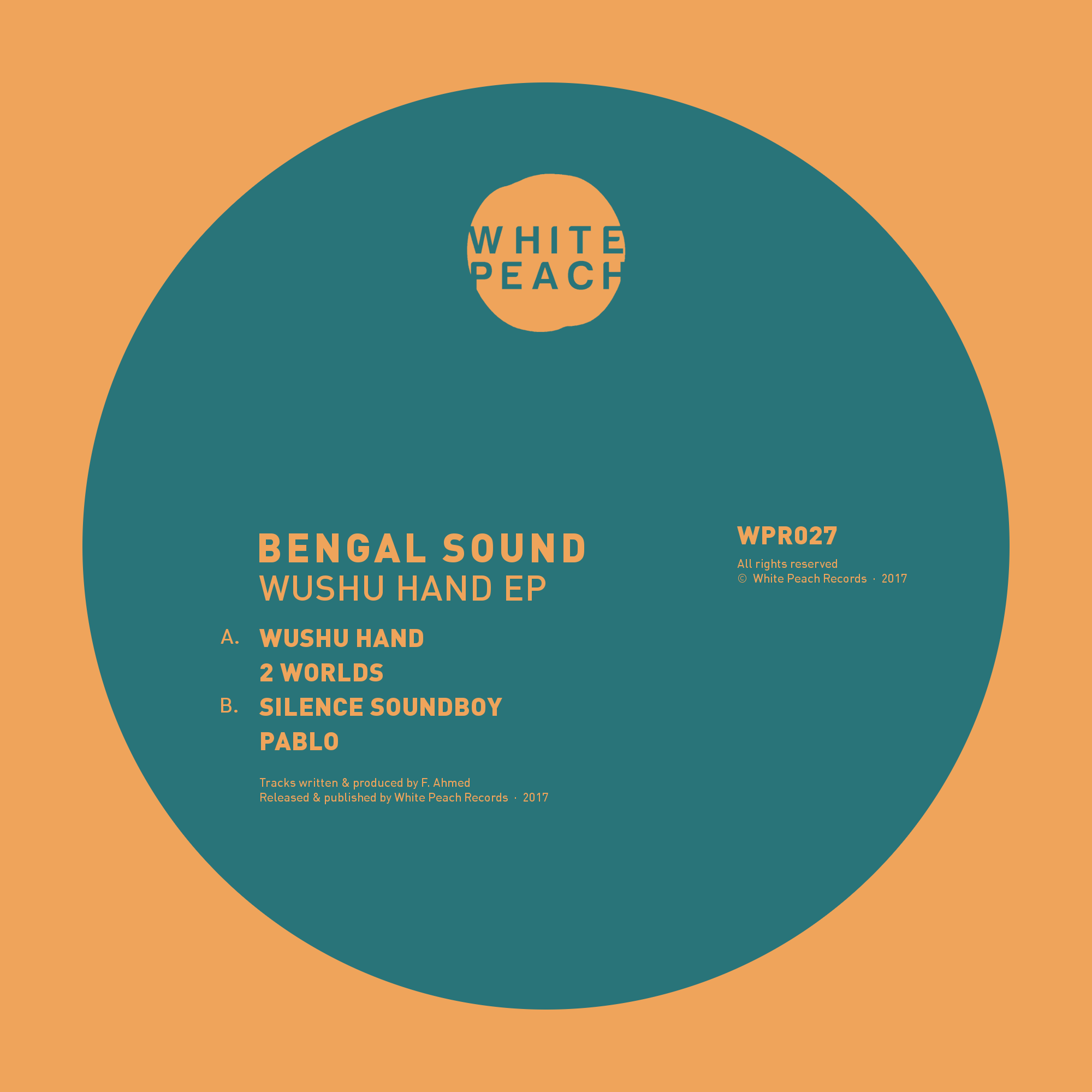 WPR027 (Bengal Sound - Wushu Hand EP, digital artwork).png