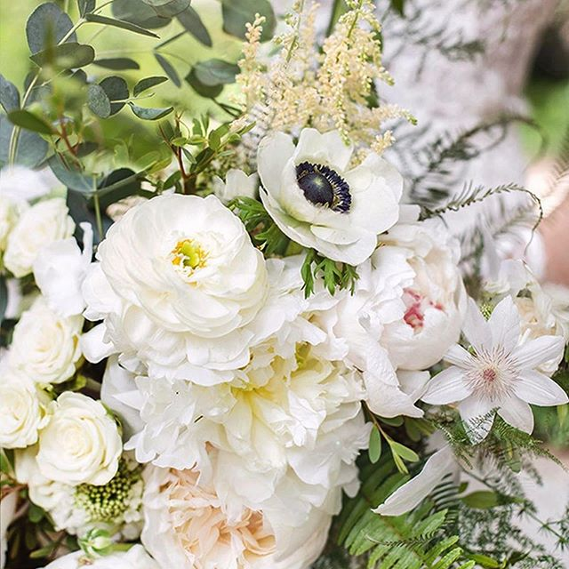 So excited to share this close up of @ellen_mcafee white bridal bouquet and repost from @tanaphotography about Her love of flowers.  When your photographer makes it a huge priority to capture the floral details it means so much to me and especially our brides ,  who will have images that can take her back to that  bridal bouquet.  I'm dying about the details here in this shot. Can you see all the different textures and colors , even though it is an all white bouquet?  Let me know what colors you see?! 👀  #Repost @tanaphotography ・・・ . A white flower grows in the quietness . I'm a floral person in the same way I'm also a paper person, a lake person, and a dog person. I'm no expert on them but I know they make my heart flip.  Wedding flowers are a detail I watch for and fully appreciate the beauty of, when I'm photographing. It's the scent, the texture, the layers, and the perfection of them I really love. 🌸 . What kind of person are you??? . Gorgeous bouquet by Kara, the super talented owner of @justso.eventfloral