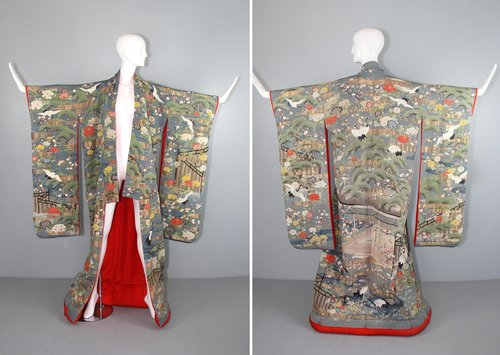 Via Etsy: Traditional Wedding Kimono from the 1800's ($9500)