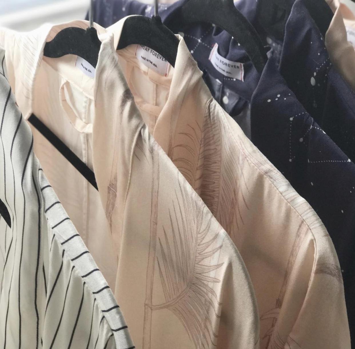 LIMITED EDITION Palm Print Kimono