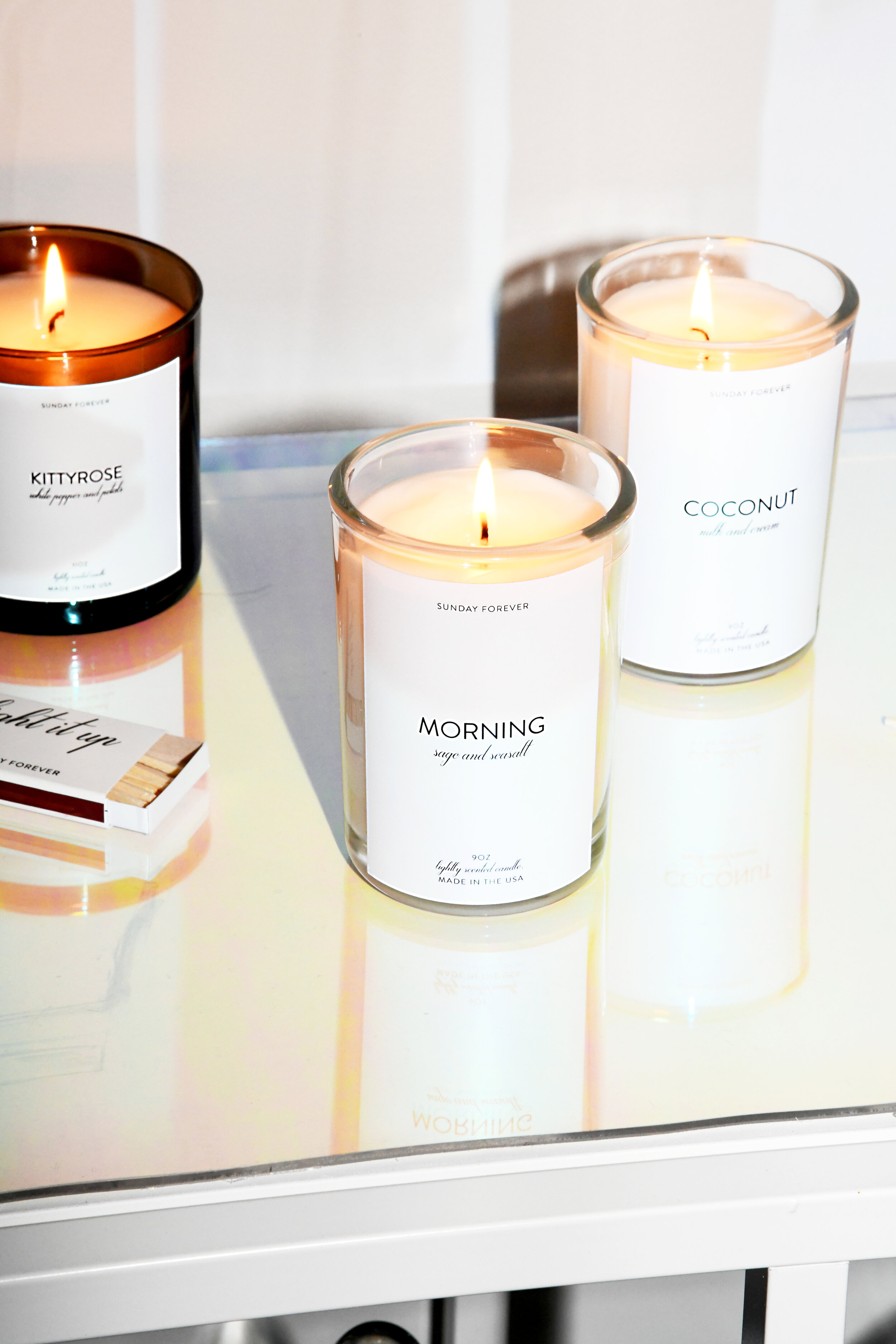 Sunday Forever Candles
