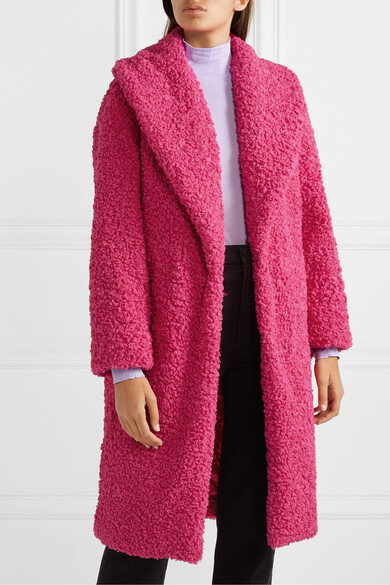Alice & Olivia Shearling Coat