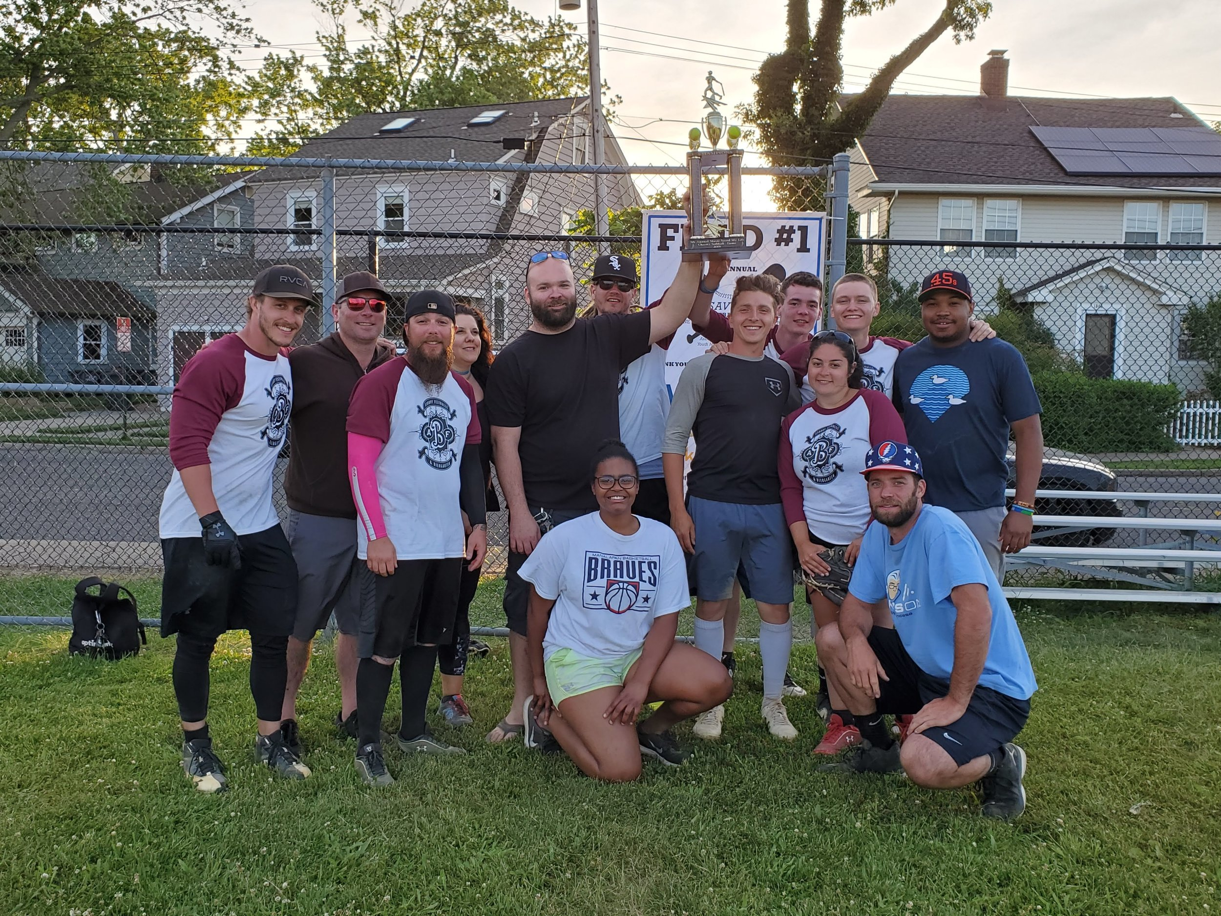 Congratulations to the Asbury Biergarten on winning the 5th Annual Music Saved My Life Annual Softball Tournament!