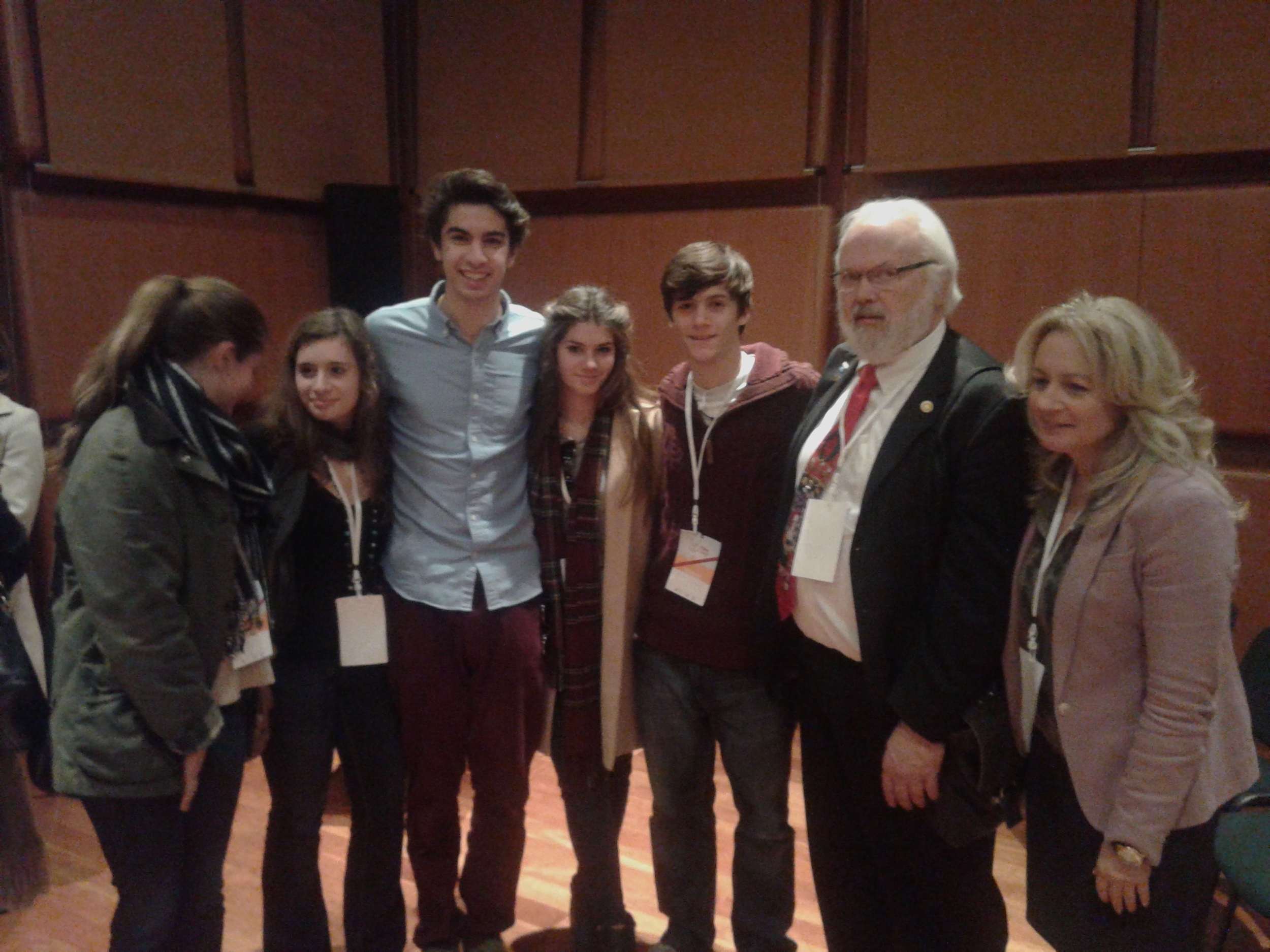 EIMAI TEAM WITH DAVID IVES, EXEC. DIRECTOR OF ALBERT SCHWEITZER INSTITUTE.jpg
