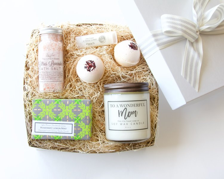Mothers Day Gift Idea Handmade Aromatherapy Spa Gift Box