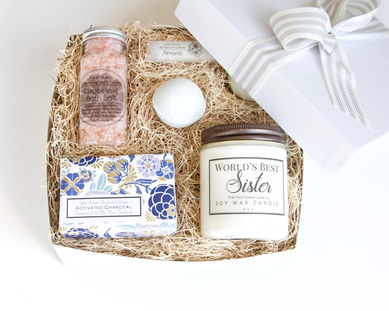 Mothers Day Gift Idea Handmade Aromatherapy Spa Gift Box