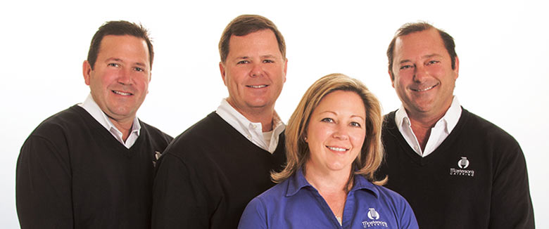 Meet the Masterson Family (left to right): Paul, Andrew, Sueanna, and Brian Masterson