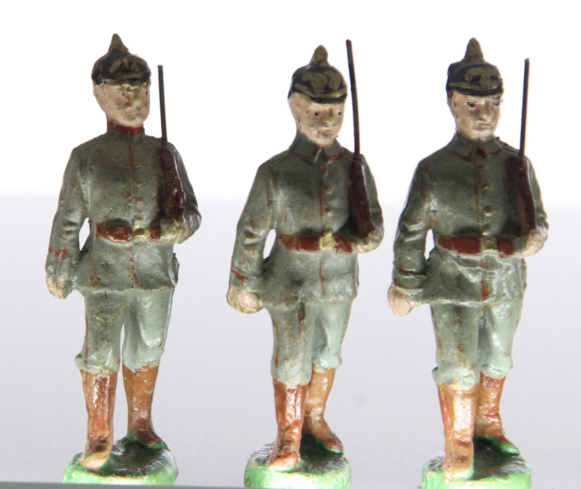 Elastolin, Germany, Prussian/German WWI composition figures
