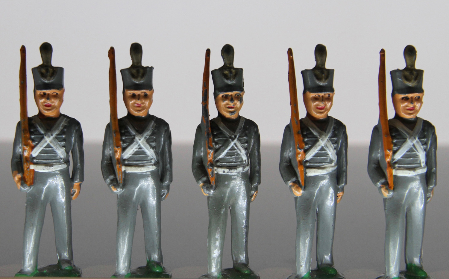 Barclay, United States, 1935-1951. West Point Cadet Dimestore Figures.