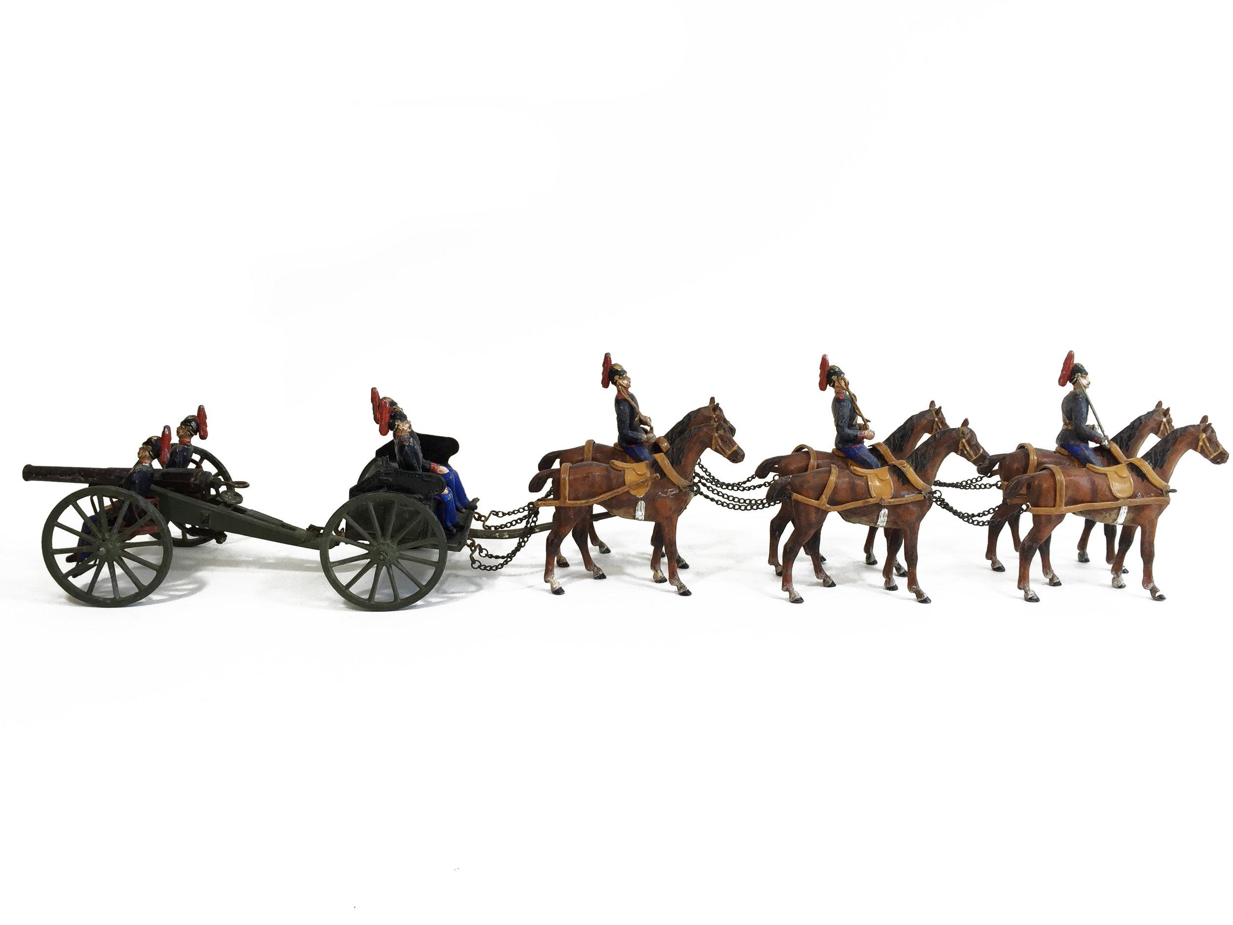 United States Horse Artillery c. 1921.