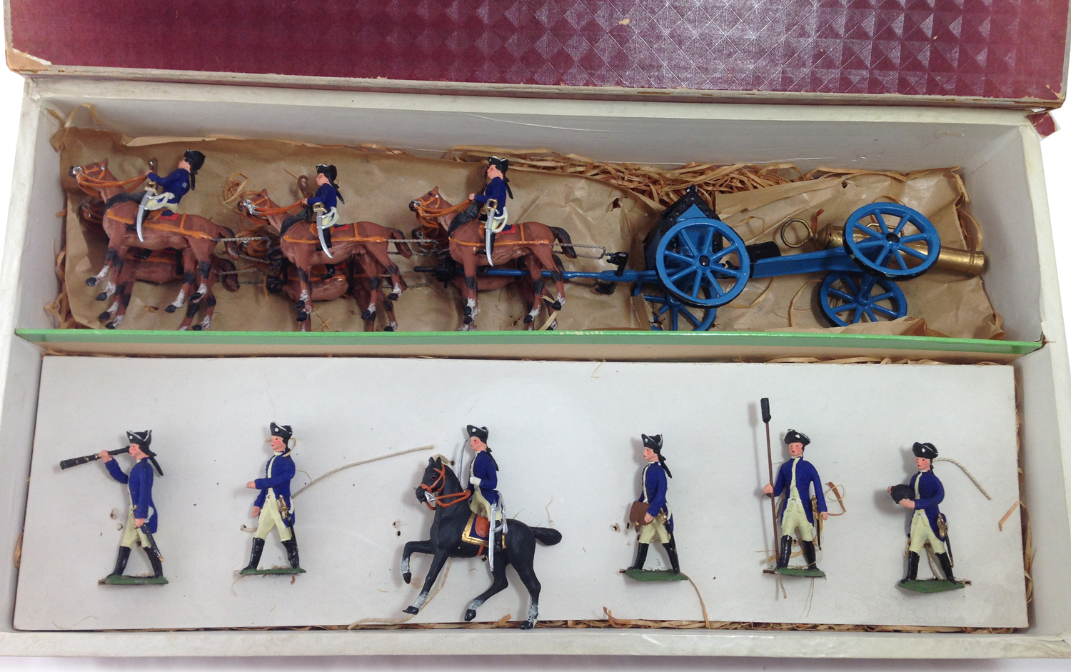 Frederick the Great Artillery Set depicting 1842-1864