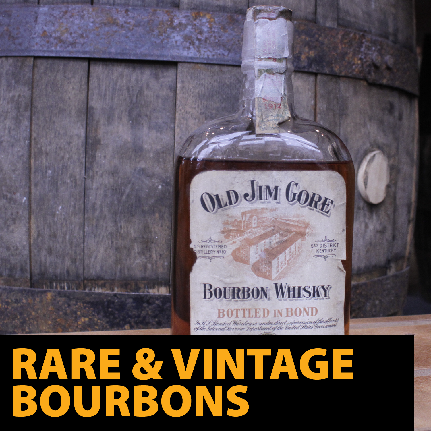 Click Here for information about Rare and Vintage Bourbon Sales