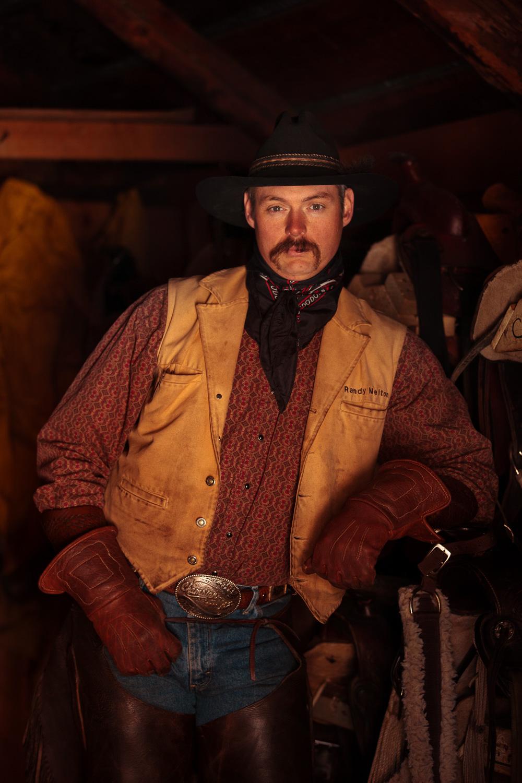 Moody Cowboy Photograph