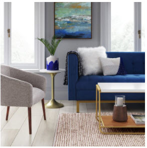 Target- New virtual preview - Wonder what a piece looks like in your home? See how an item works in your room before you commit with Targets new virtual preview. All you need is a picture!