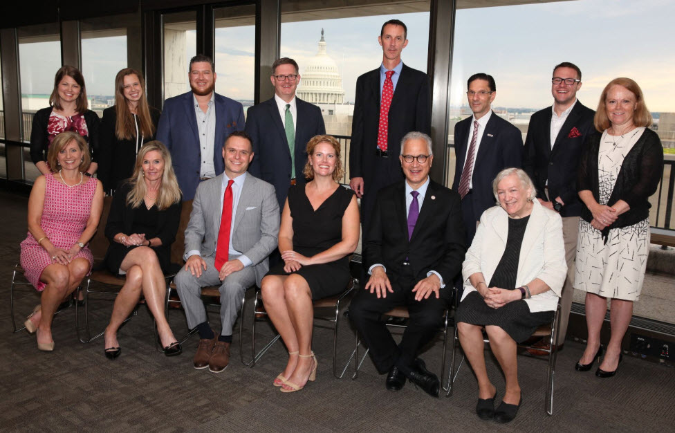 Pictured Above: Members of the Economic Club of Minnesota