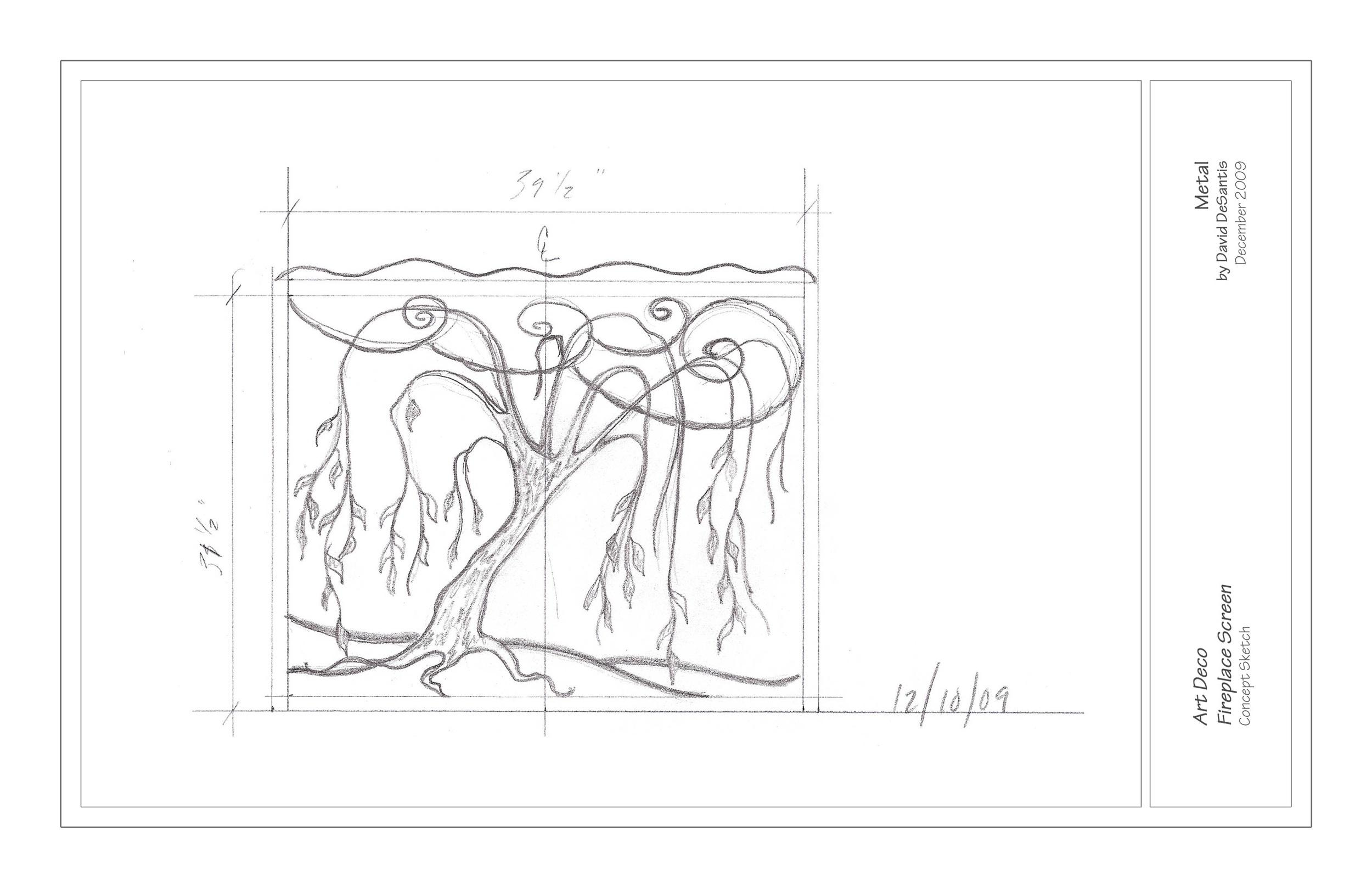 Art Deco Willow Fireplace Screen.jpg