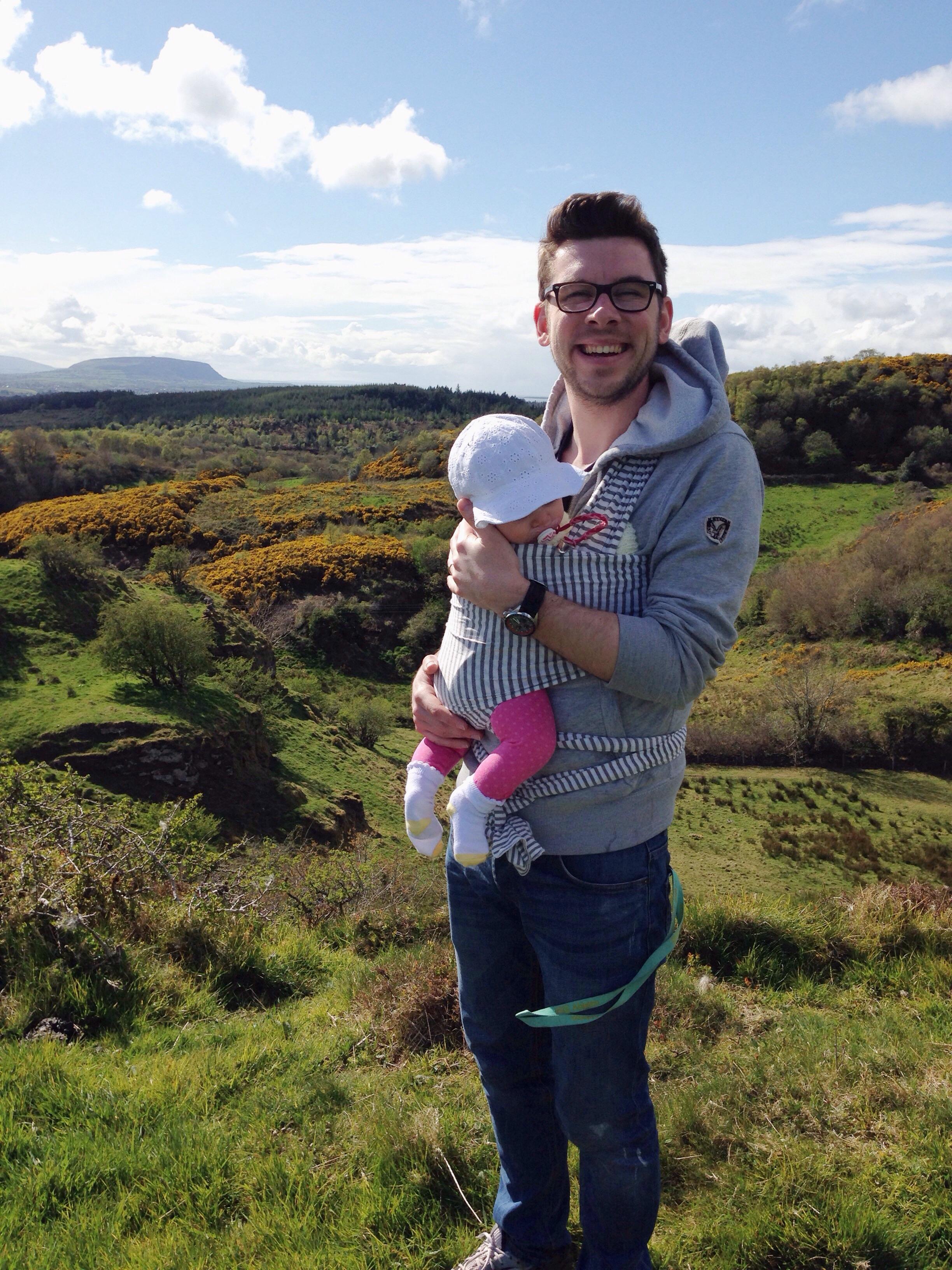 At the summit, Sligo