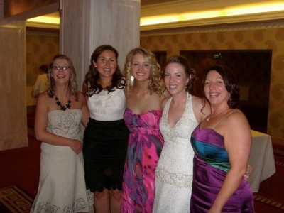 Some of the Topshop girlies at my wedding!