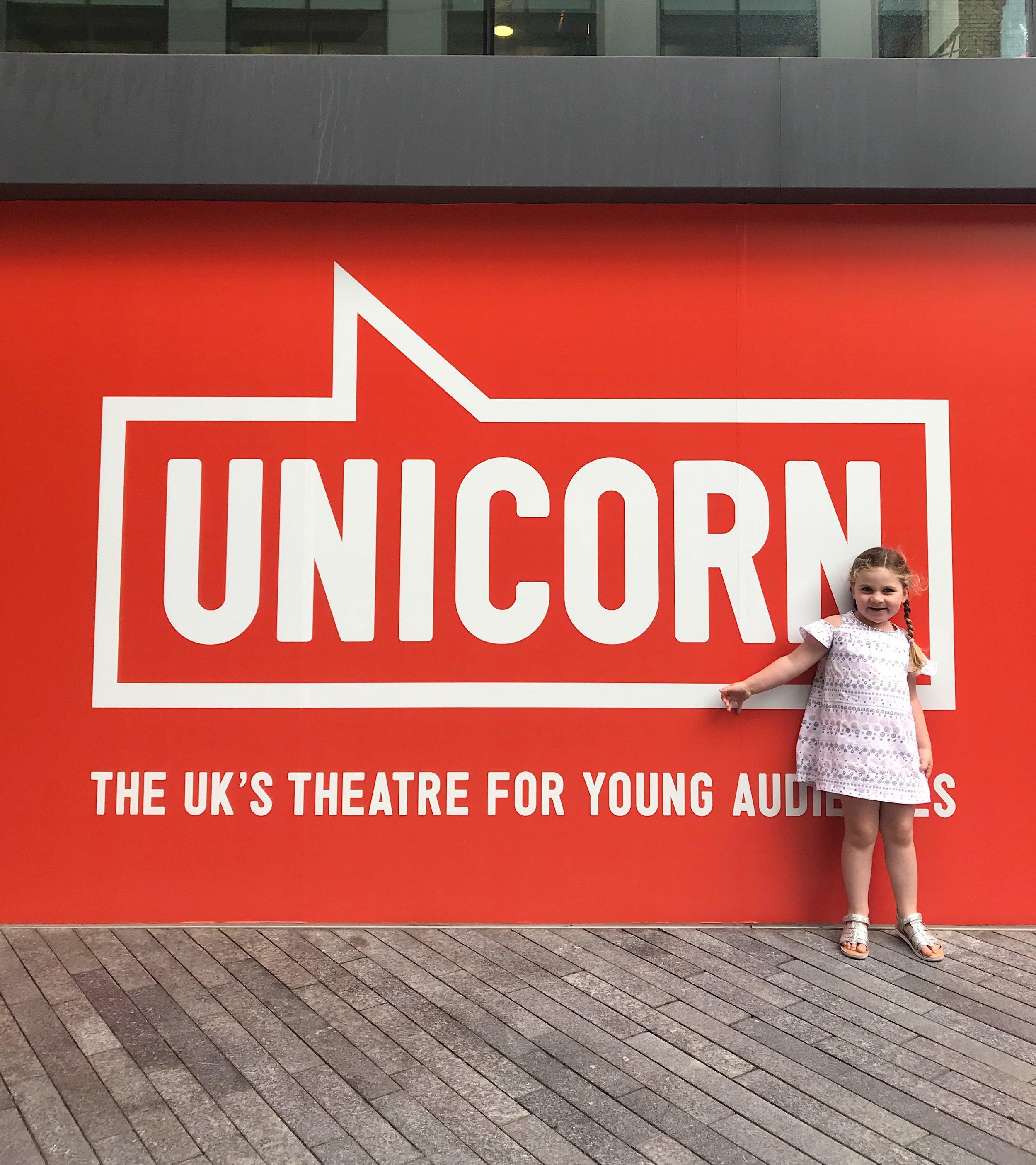 Unicorn Theatre, Tooley St. London.