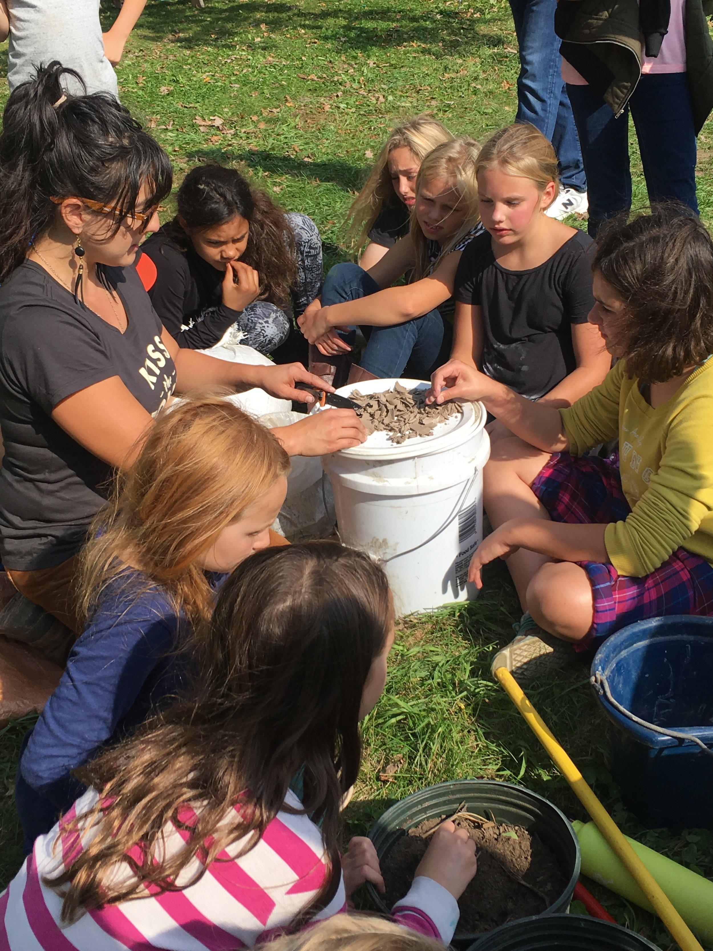 Soil science lesson